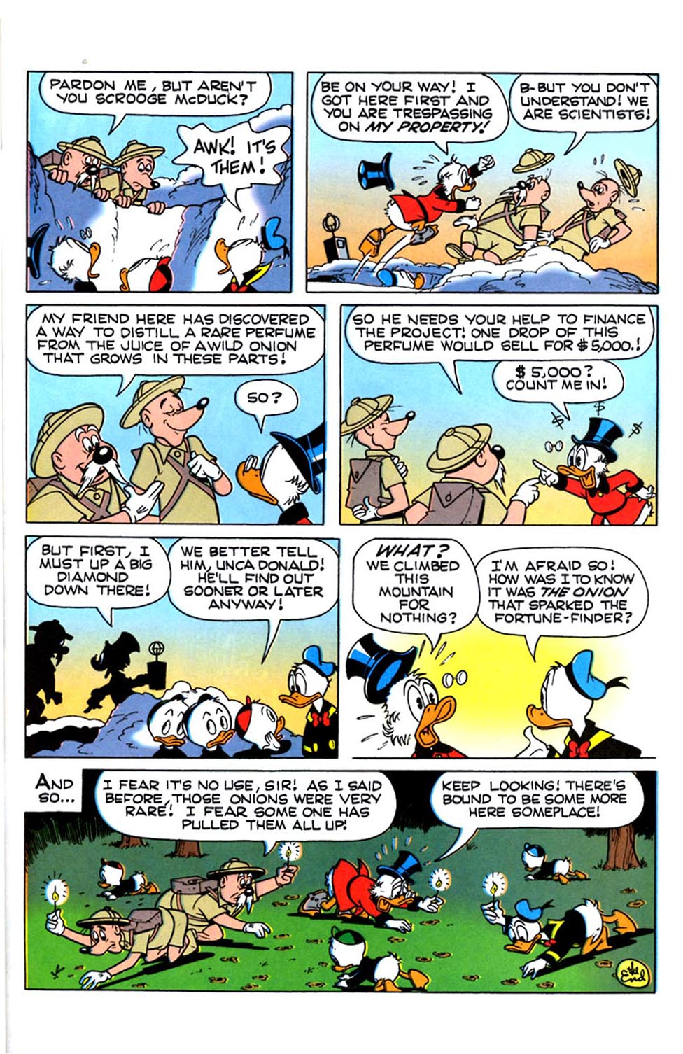 Read online Uncle Scrooge (1953) comic -  Issue #288 - 28