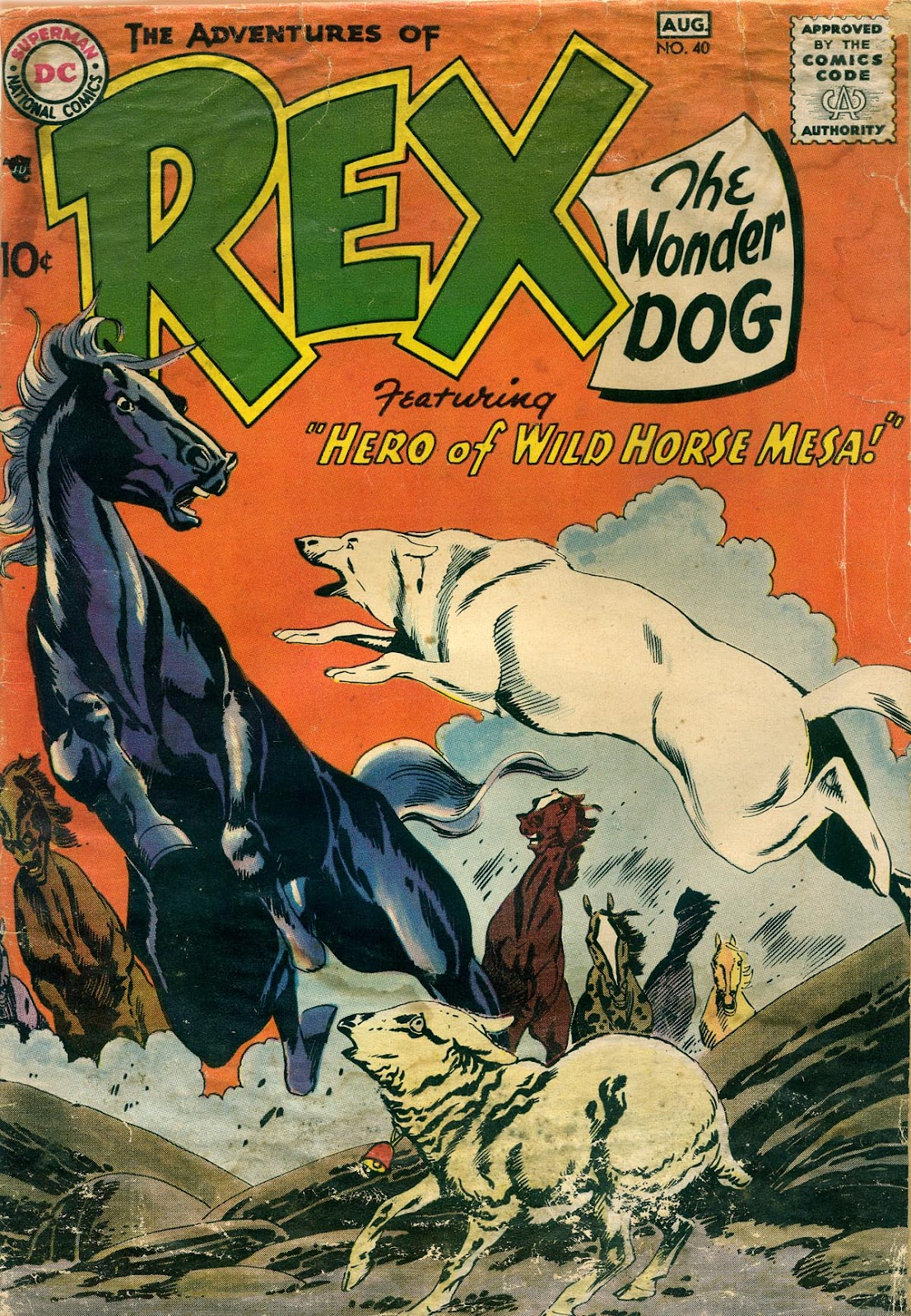 The Adventures of Rex the Wonder Dog issue 40 - Page 1