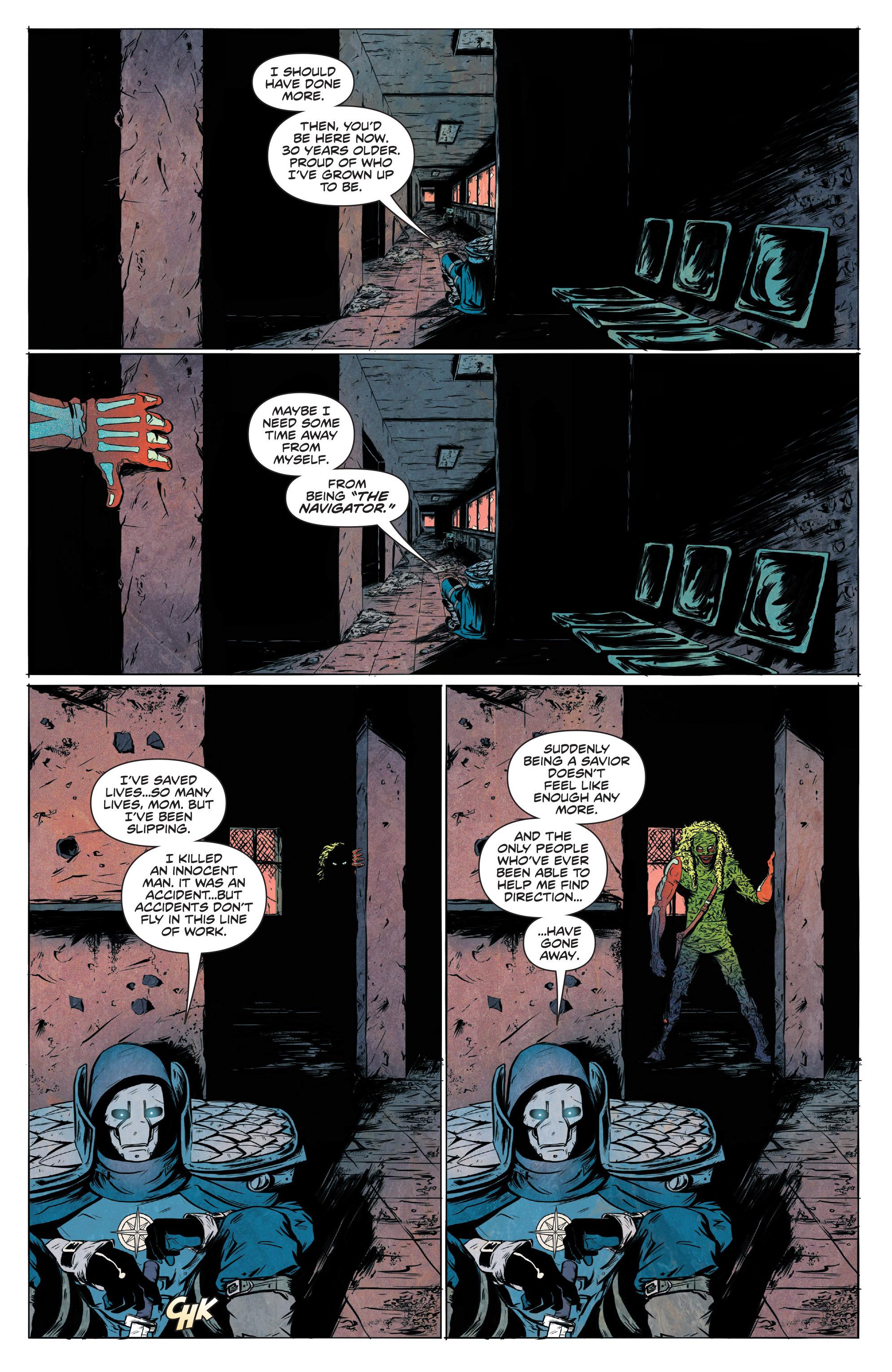 Read online Translucid comic -  Issue #4 - 6