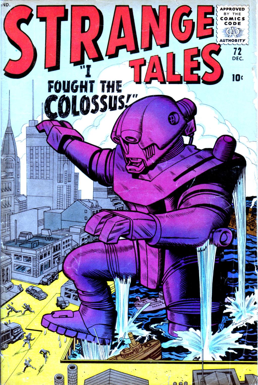 Strange Tales (1951) 72 Page 1