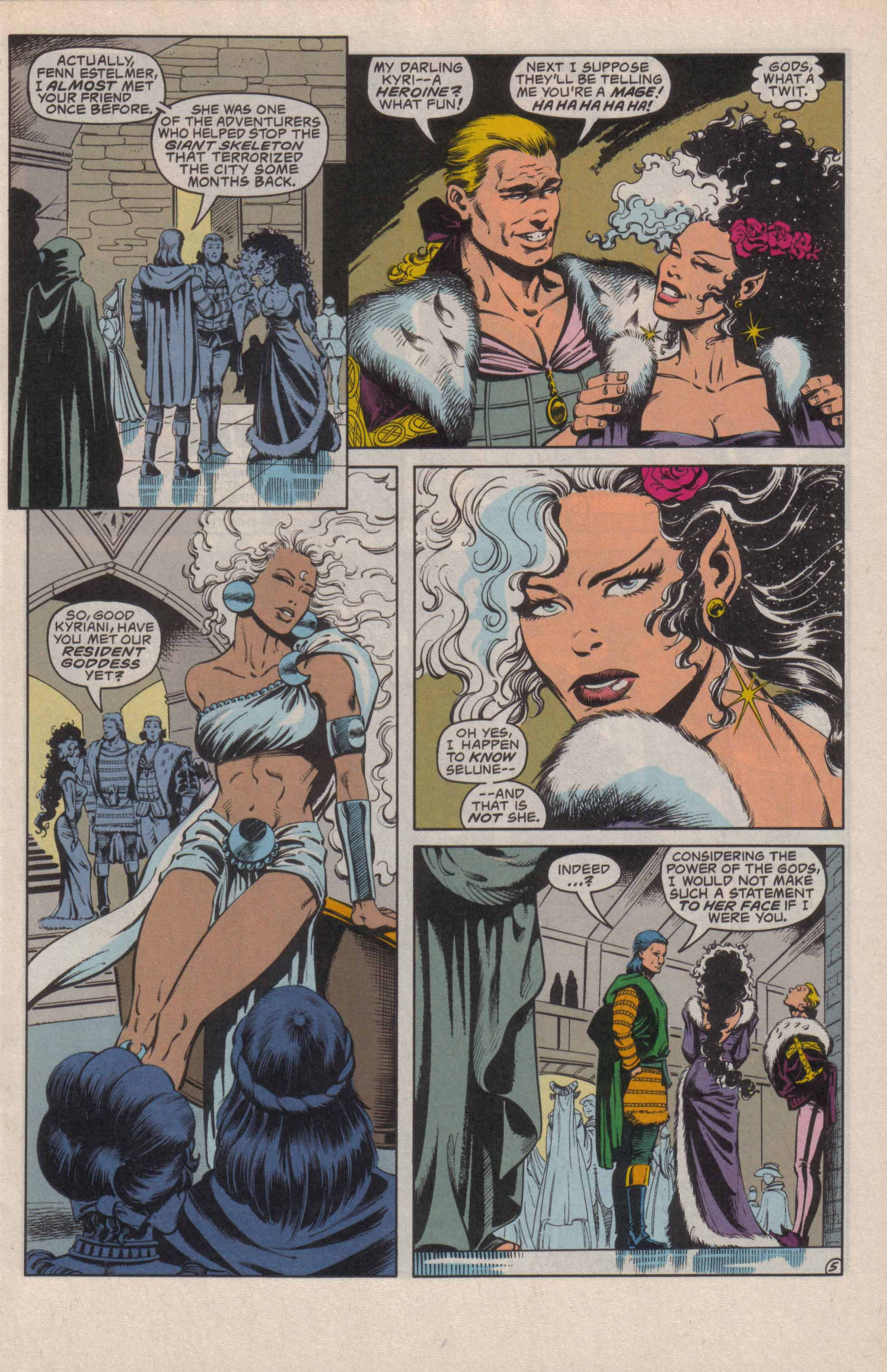 Read online Advanced Dungeons & Dragons comic -  Issue #20 - 6