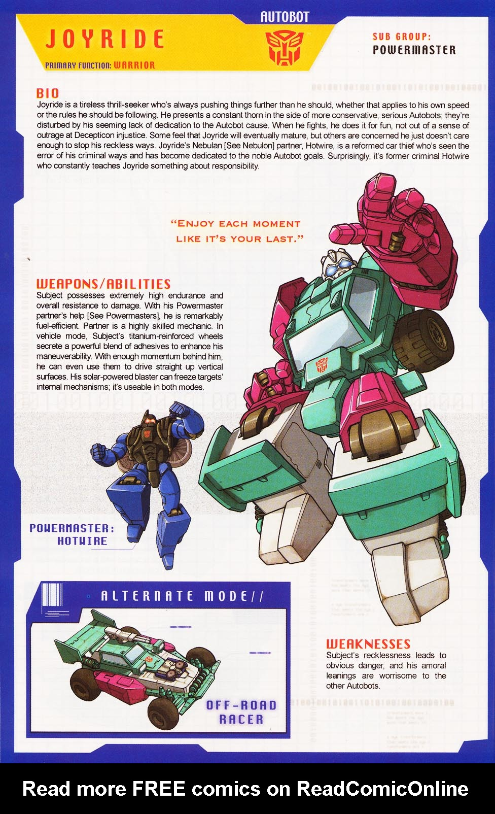 Read online Transformers: More than Meets the Eye comic -  Issue #3 - 52
