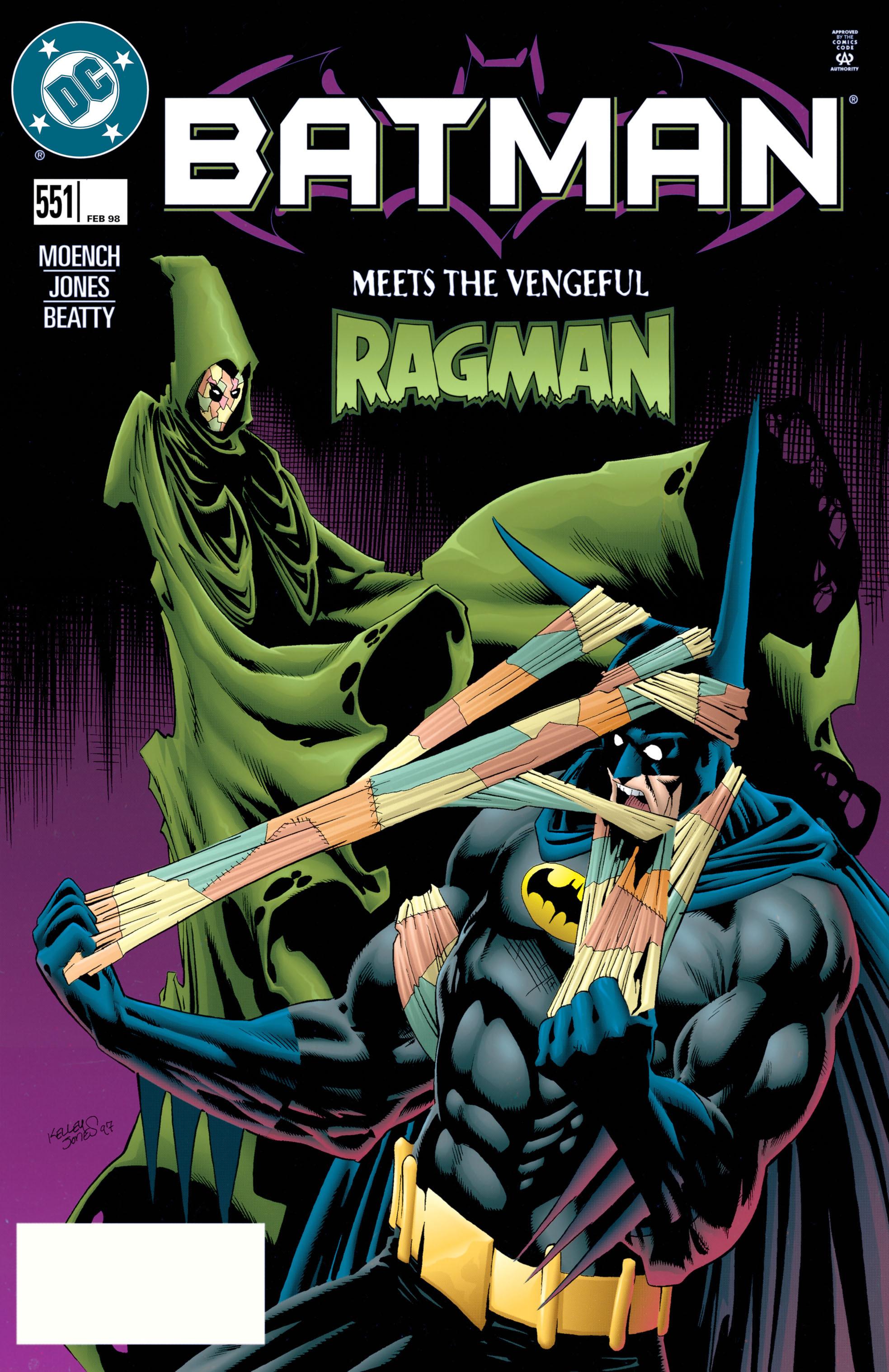 Batman (1940) 551 Page 1