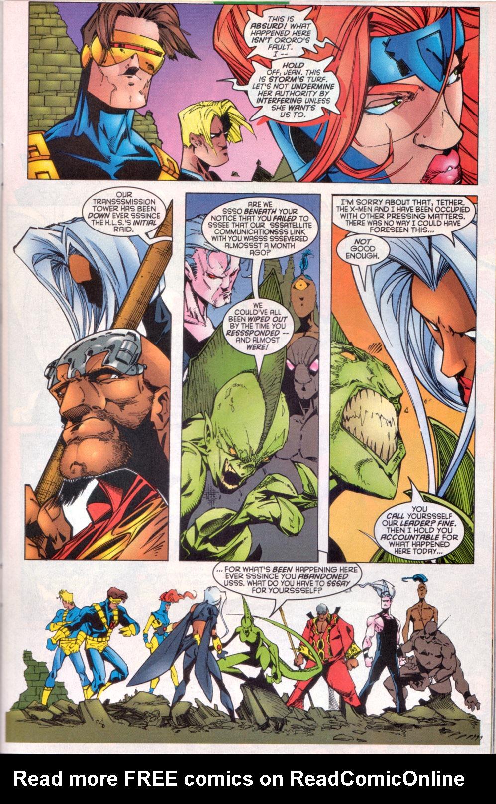 Read online Uncanny X-Men (1963) comic -  Issue # _Annual 1997 - 10