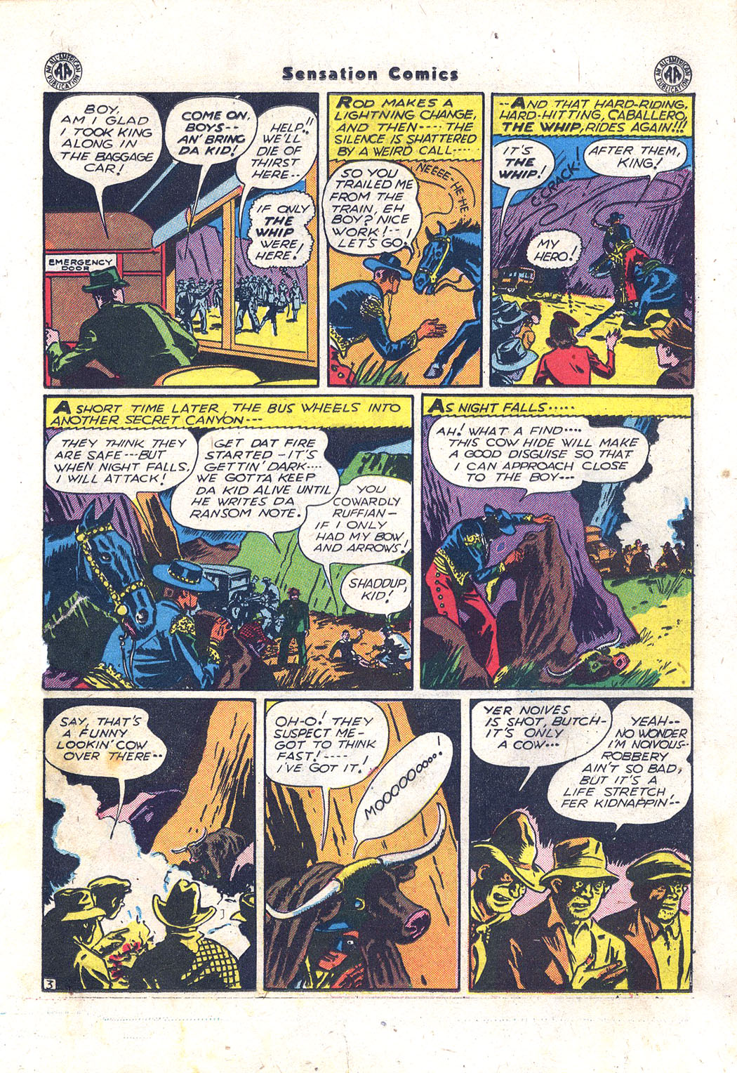 Read online Sensation (Mystery) Comics comic -  Issue #43 - 26