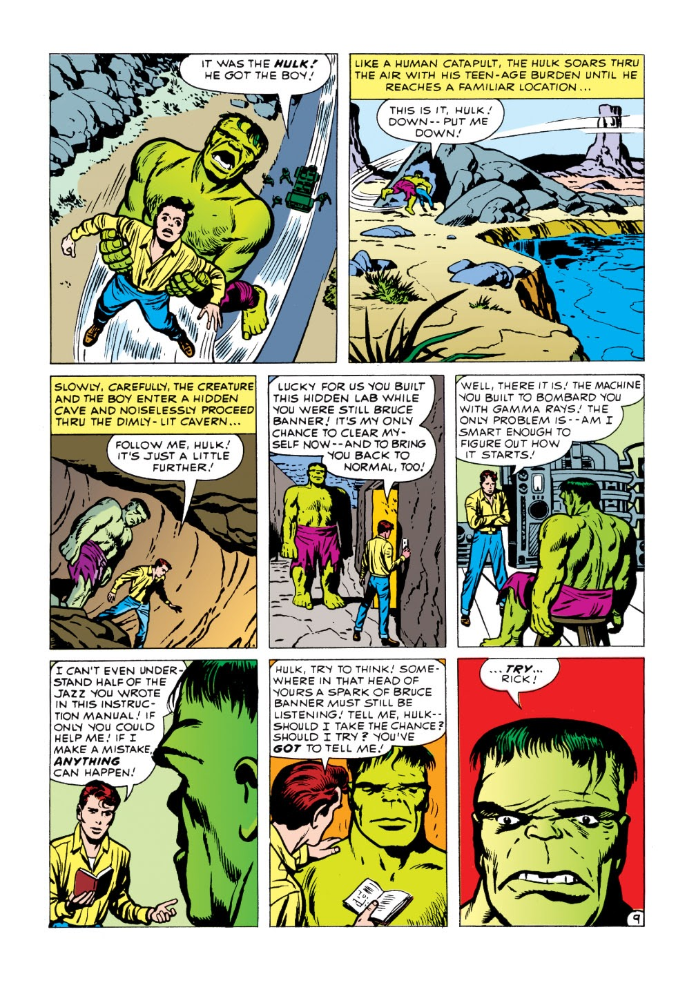 Read online Marvel Masterworks: The Incredible Hulk comic -  Issue # TPB 1 (Part 1) - 87