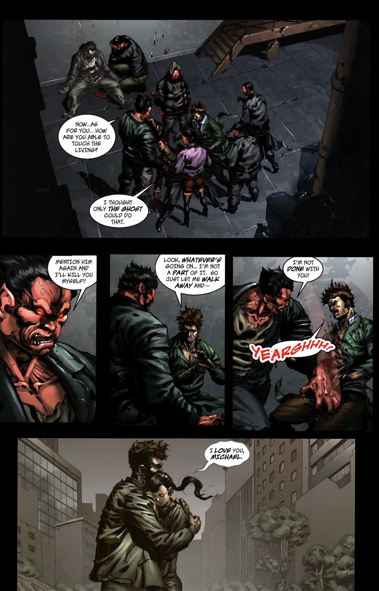 Read online The Grim Ghost comic -  Issue #0 - 11