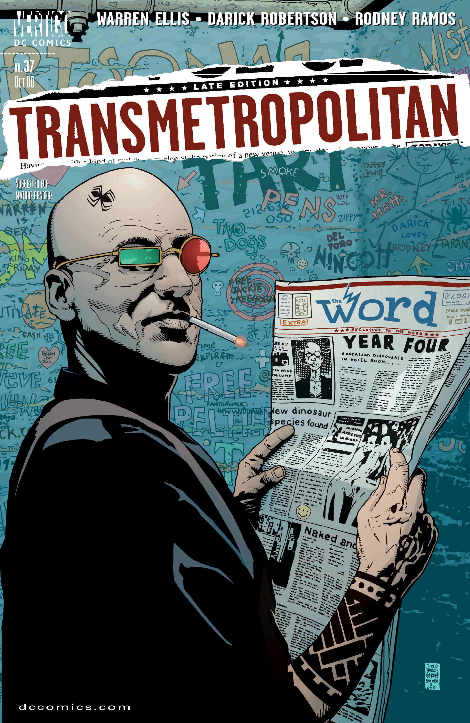 Read online Transmetropolitan comic -  Issue #37 - 1