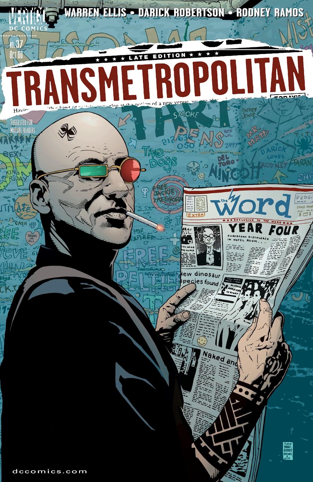 Transmetropolitan 37 Page 1