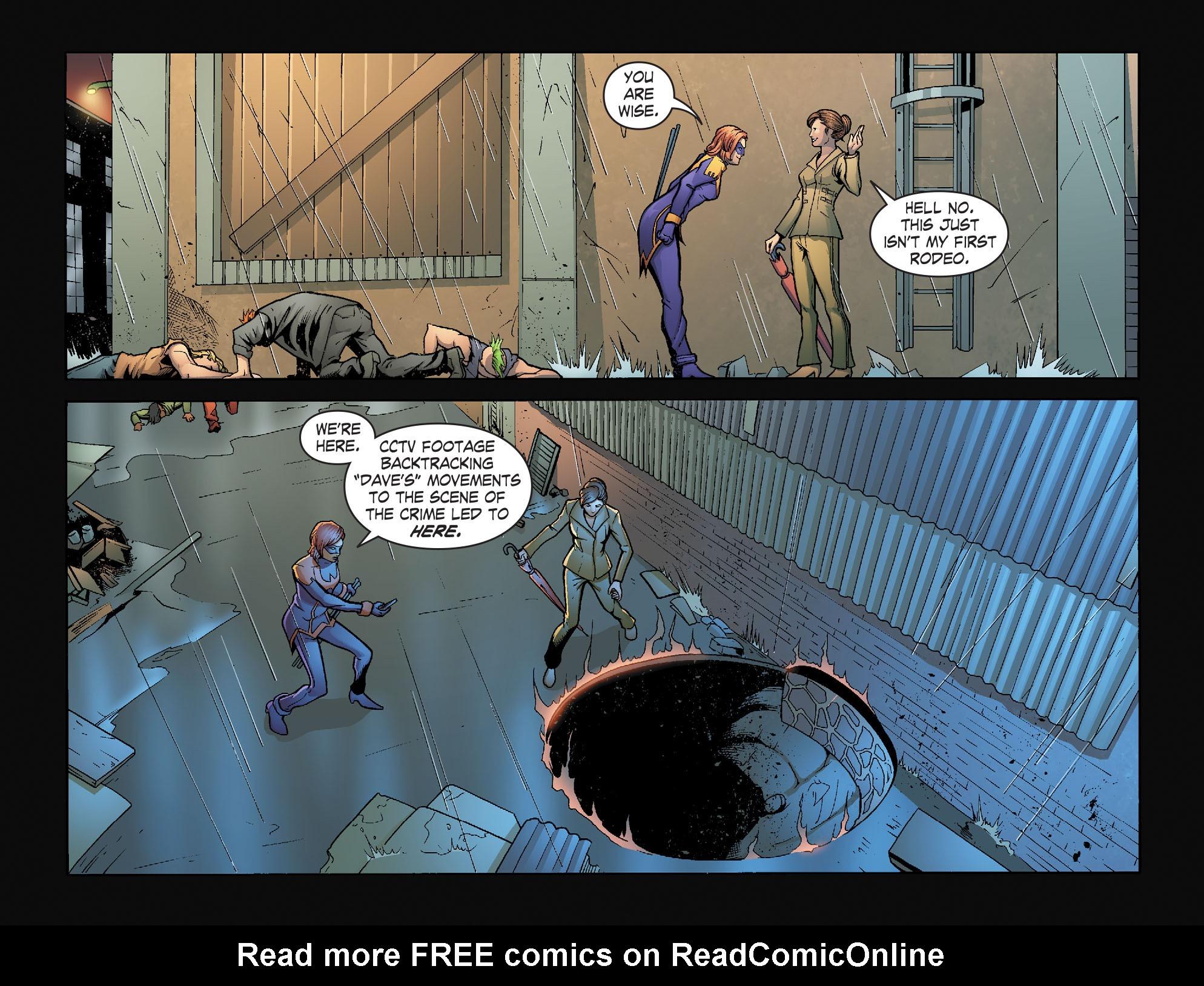 Read online Smallville: Alien comic -  Issue #8 - 11