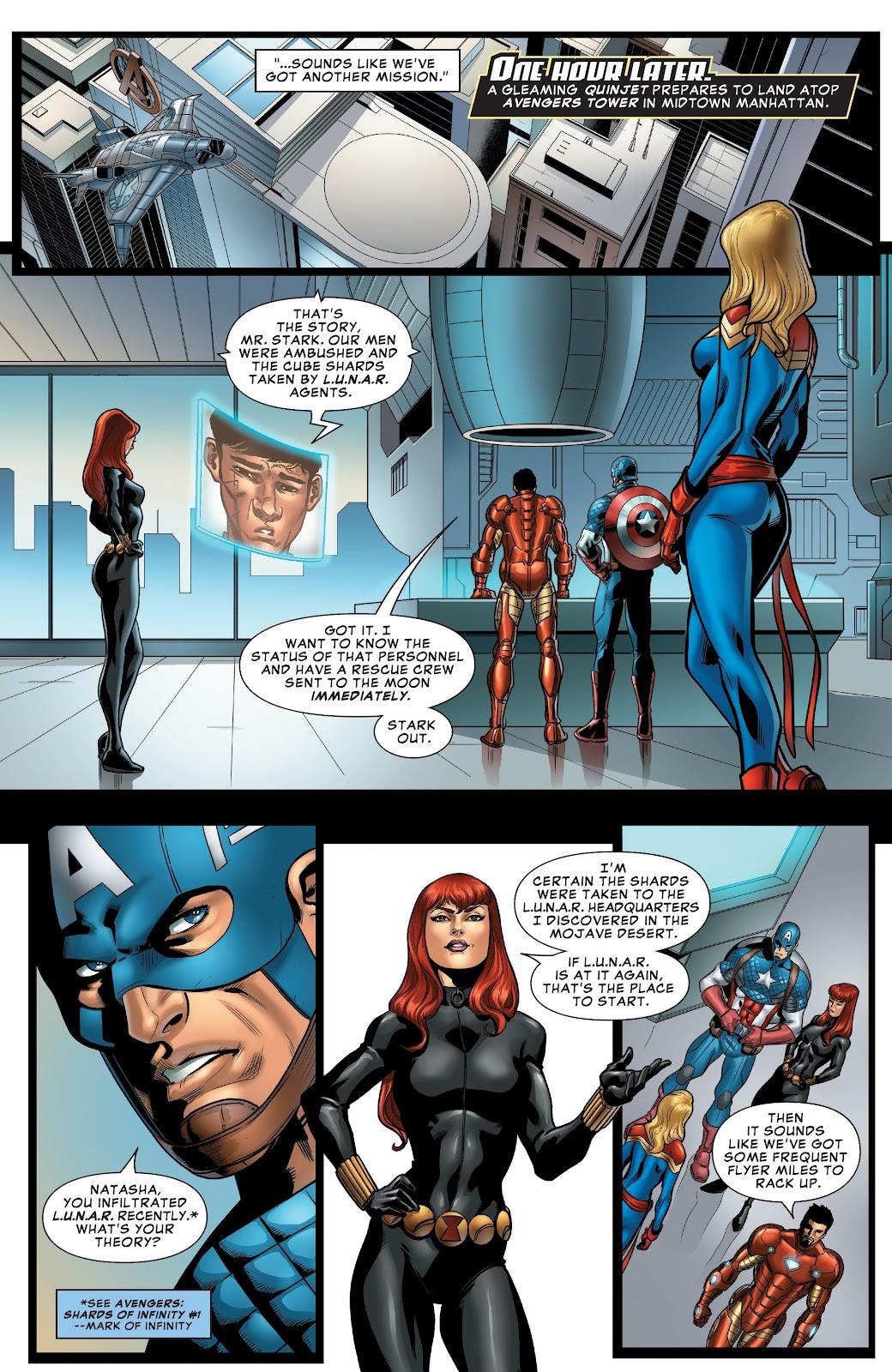 Read online Avengers: Edge of Infinity comic -  Issue # Full - 10