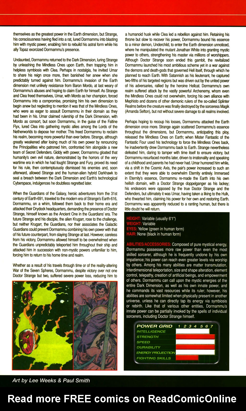 Read online All-New Official Handbook of the Marvel Universe A to Z comic -  Issue #3 - 63