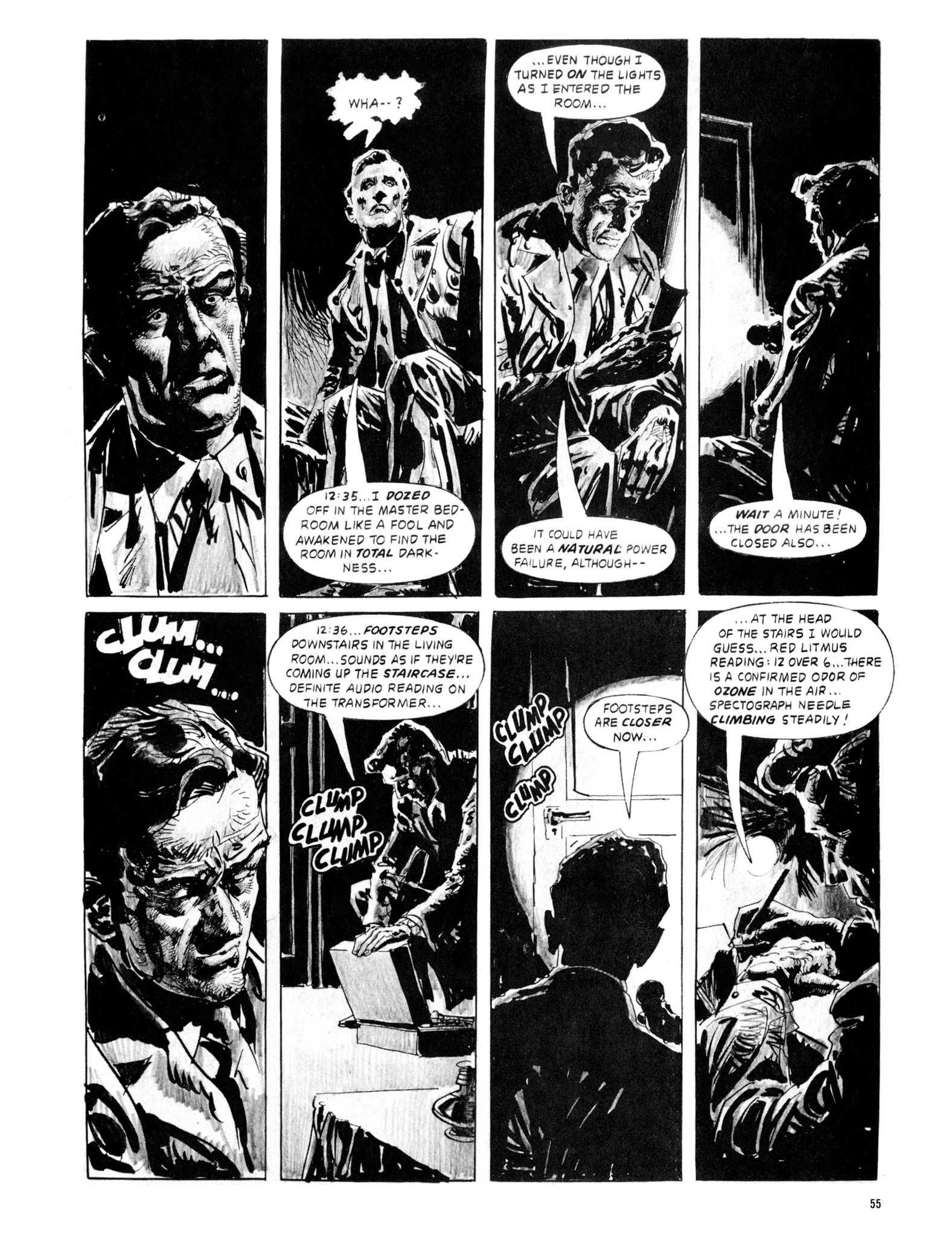 Read online Eerie Archives comic -  Issue # TPB 20 - 55