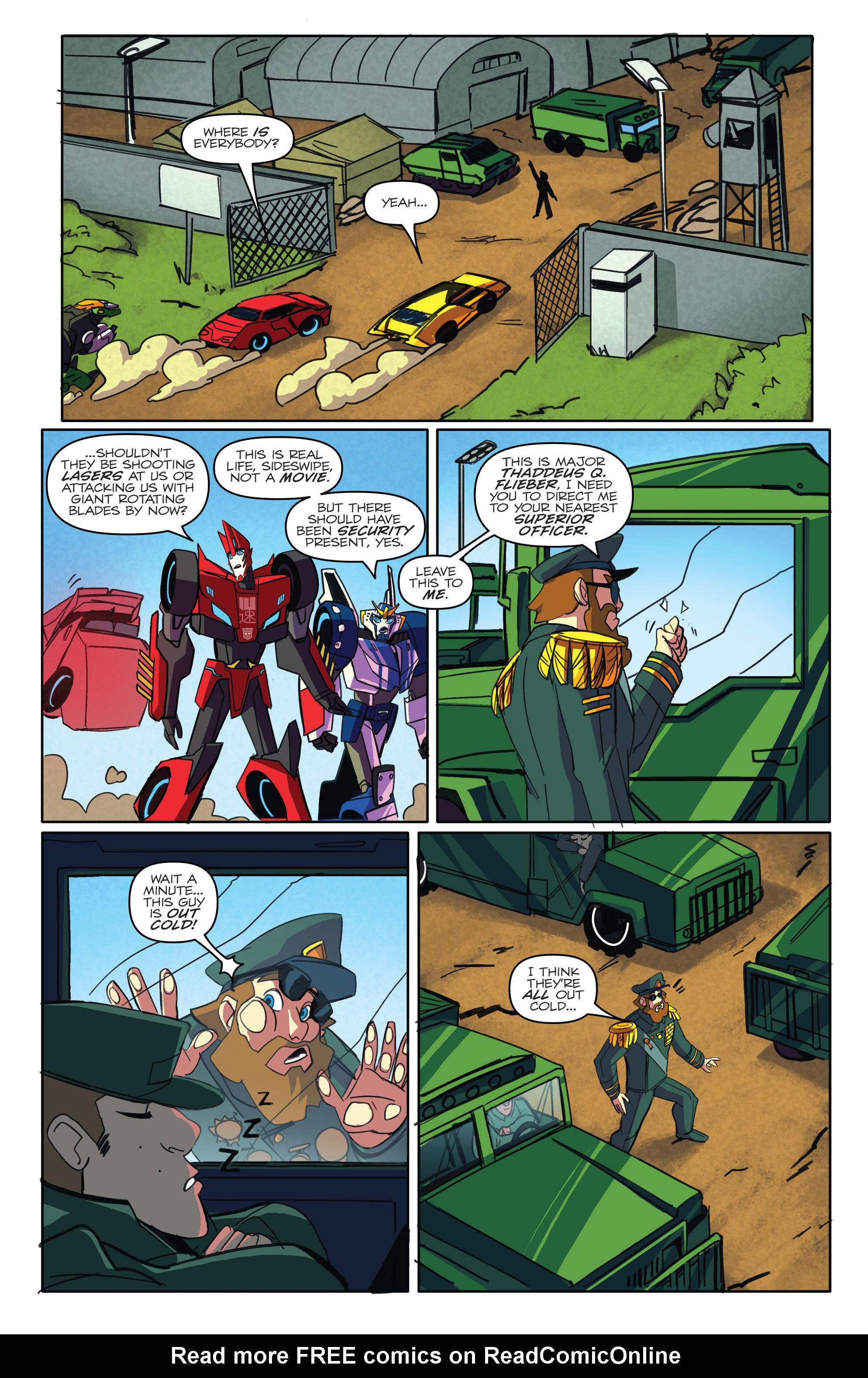 Read online Transformers: Robots In Disguise (2015) comic -  Issue #5 - 17