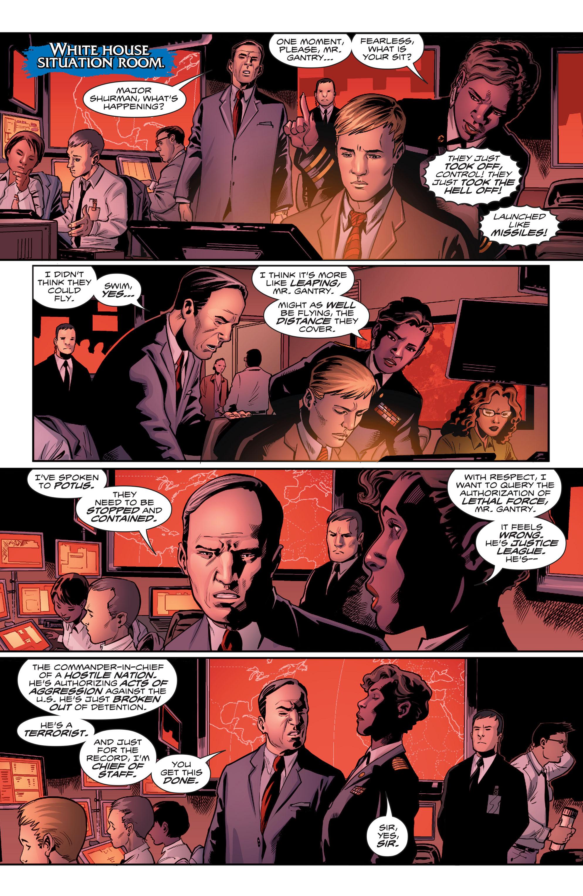 Read online Aquaman (2016) comic -  Issue #5 - 10