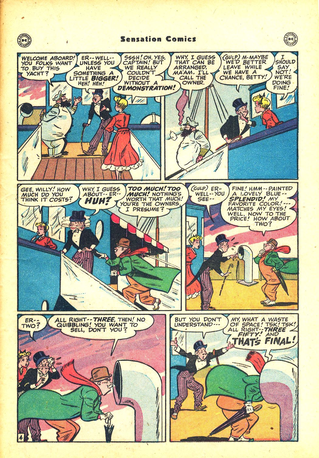 Read online Sensation (Mystery) Comics comic -  Issue #81 - 37
