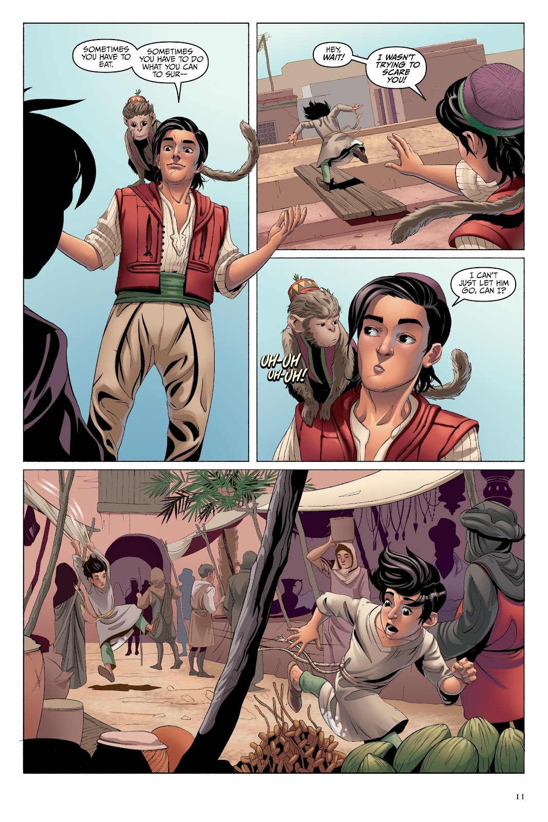 Read online Disney Aladdin: Four Tales of Agrabah comic -  Issue # TPB - 11