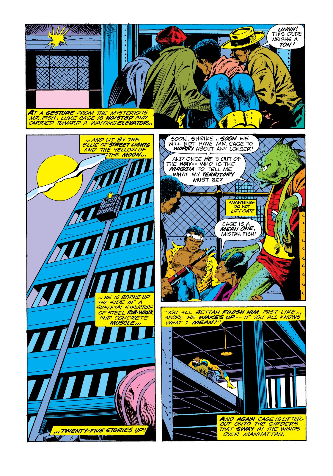 Read online Marvel Masterworks: Luke Cage, Power Man comic -  Issue # TPB 2 (Part 3) - 49