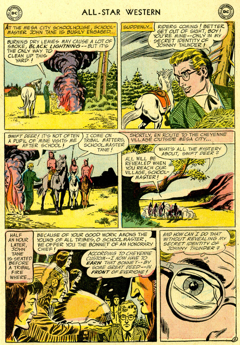 Read online All-Star Western (1951) comic -  Issue #83 - 29