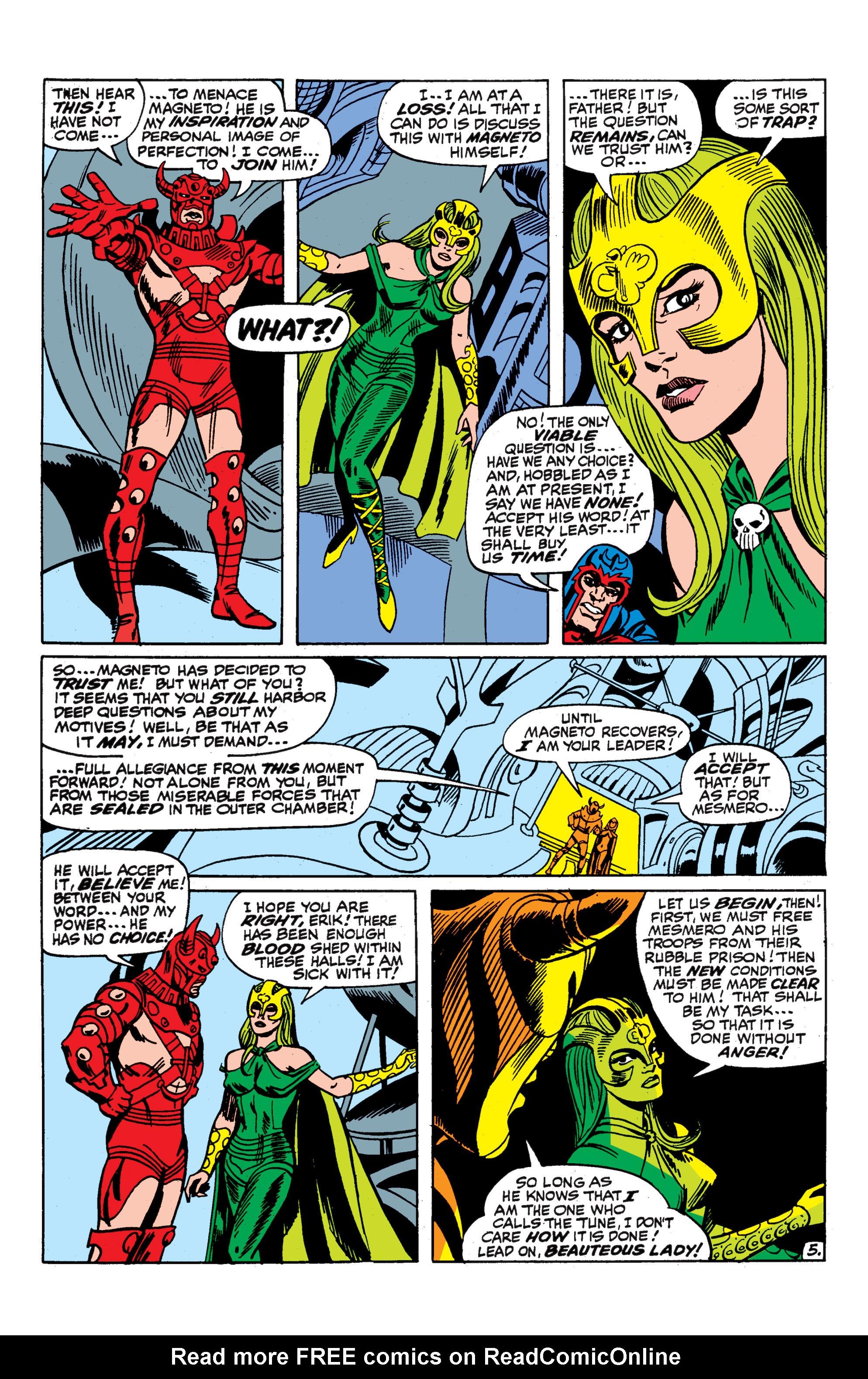 Uncanny X-Men (1963) 52 Page 5