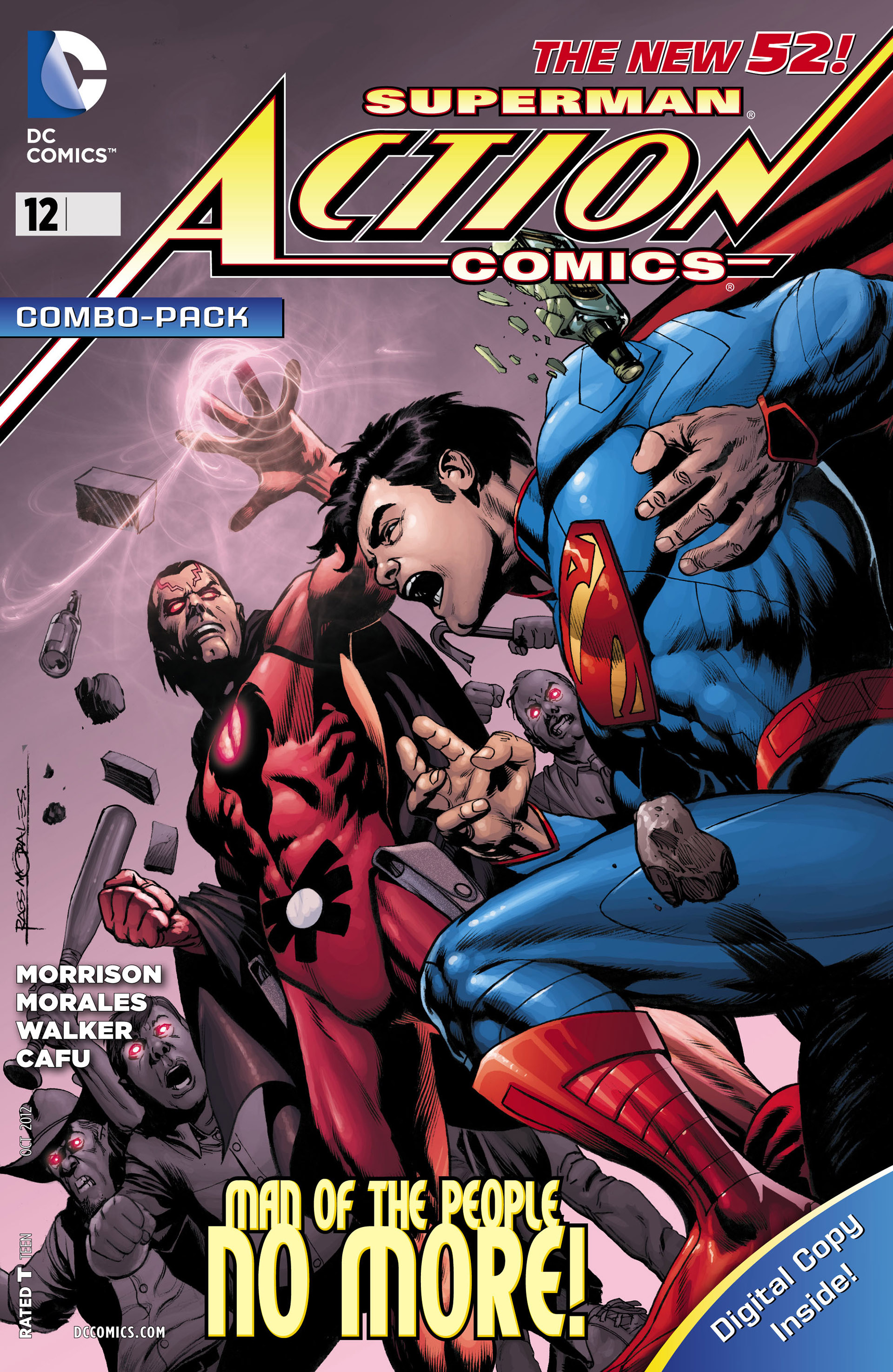 Read online Action Comics (2011) comic -  Issue #12 - 34