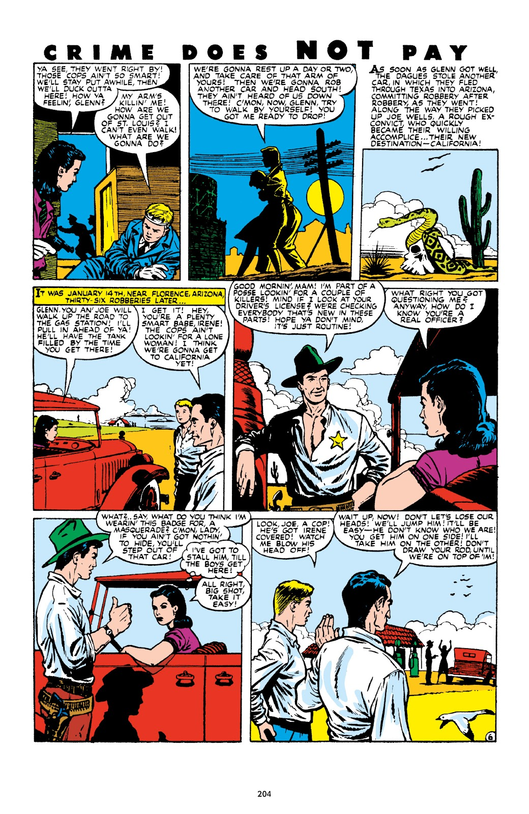Read online Crime Does Not Pay Archives comic -  Issue # TPB 9 (Part 3) - 6