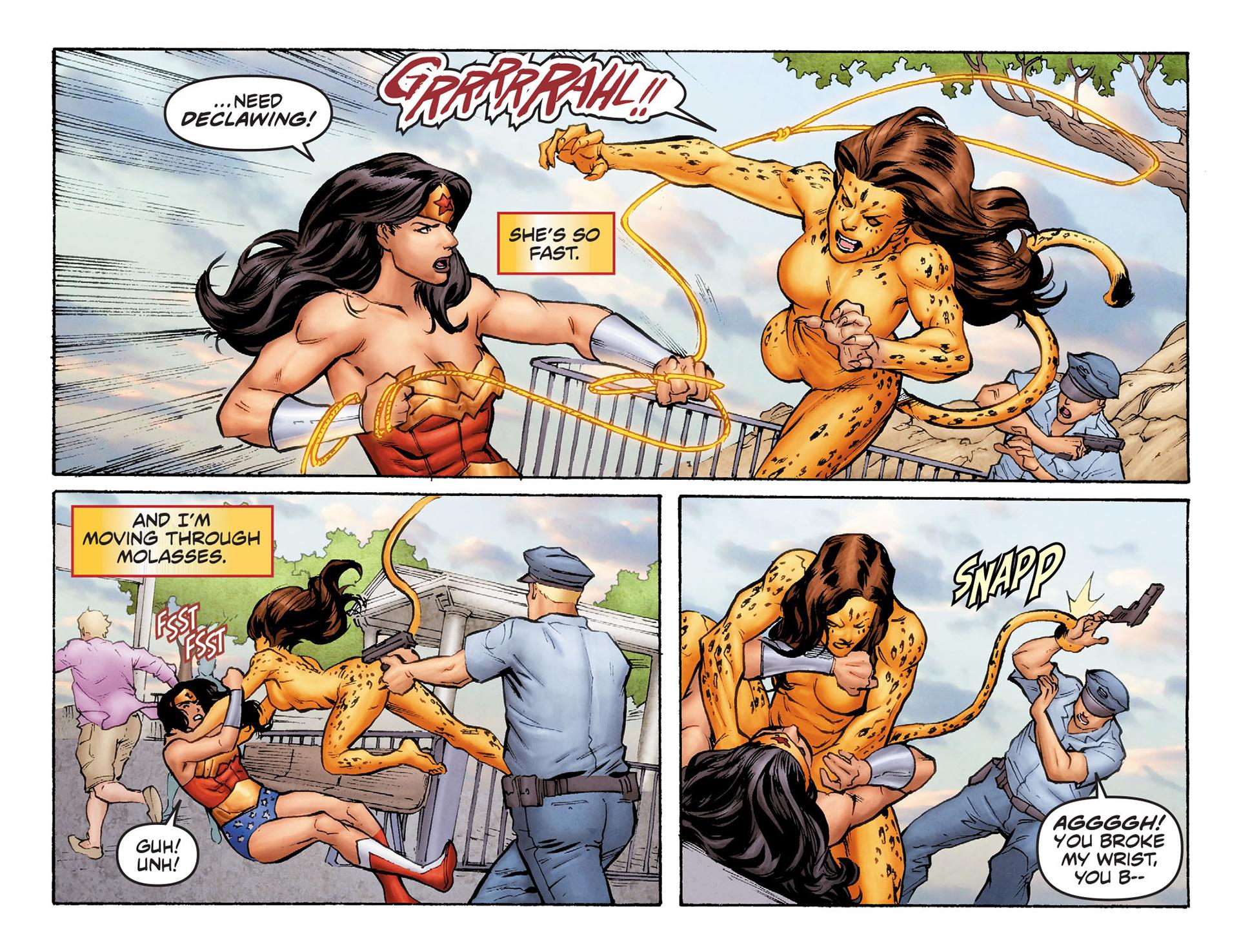 Read online Sensation Comics Featuring Wonder Woman comic -  Issue #6 - 9