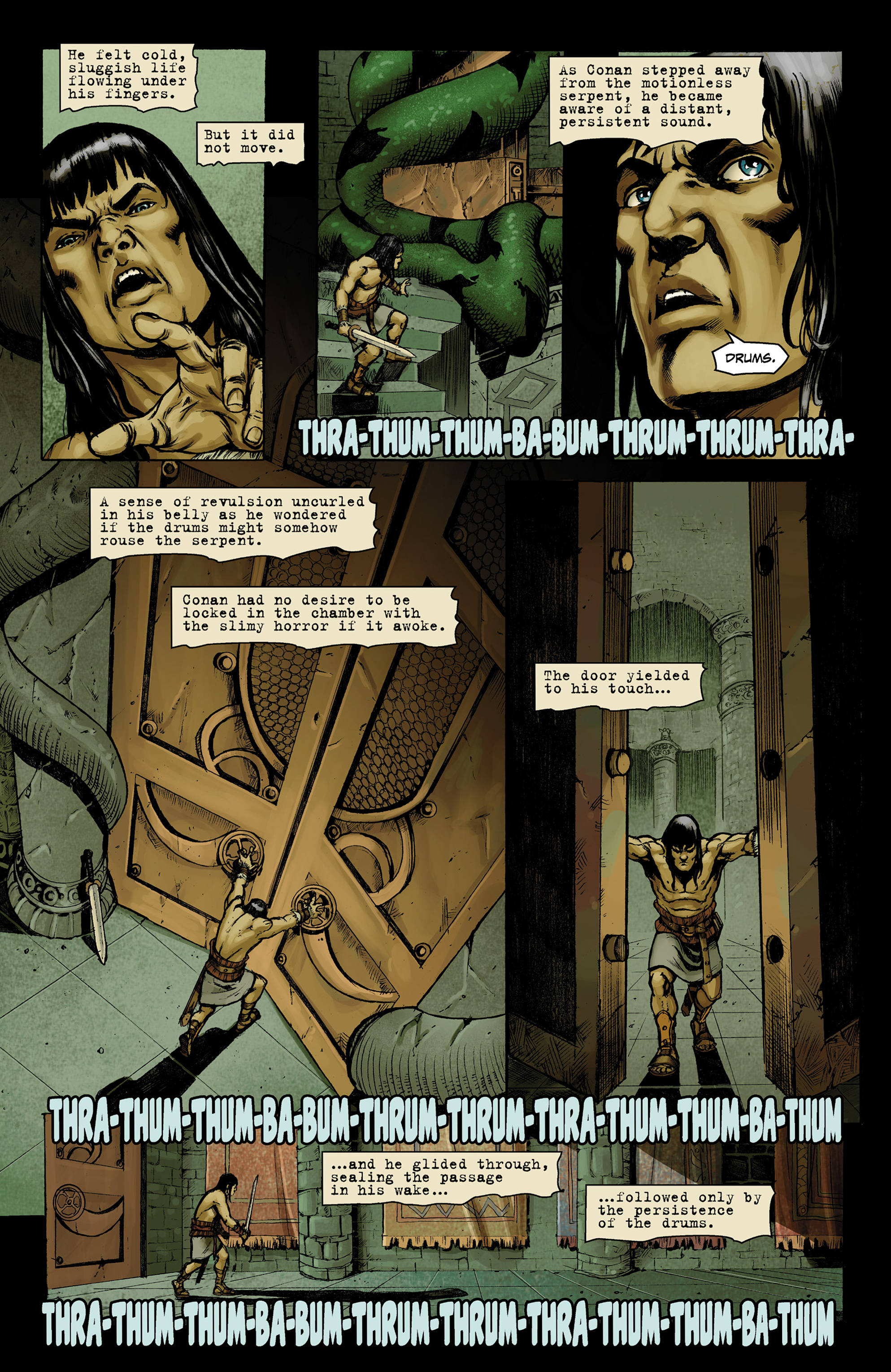 Read online Conan The Slayer comic -  Issue #9 - 14