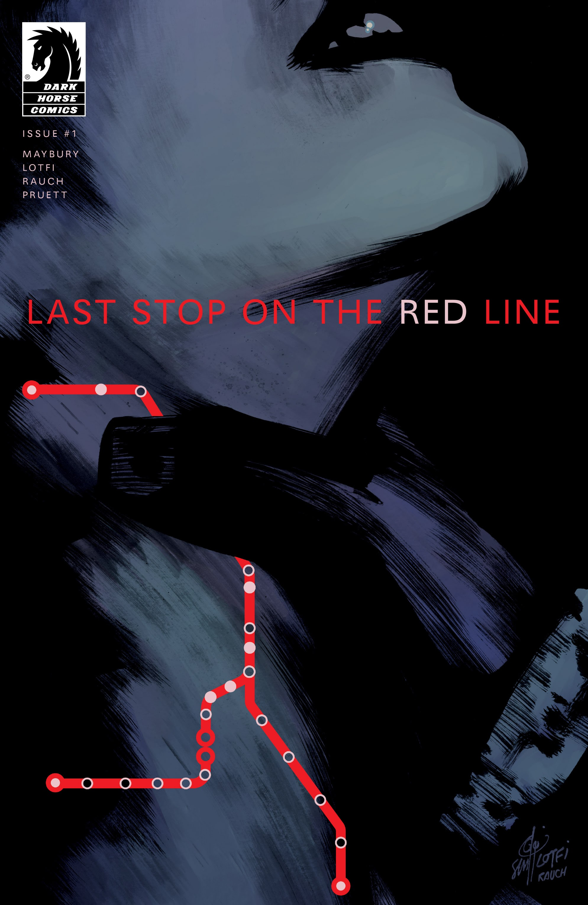 Last Stop On the Red Line 1 Page 1