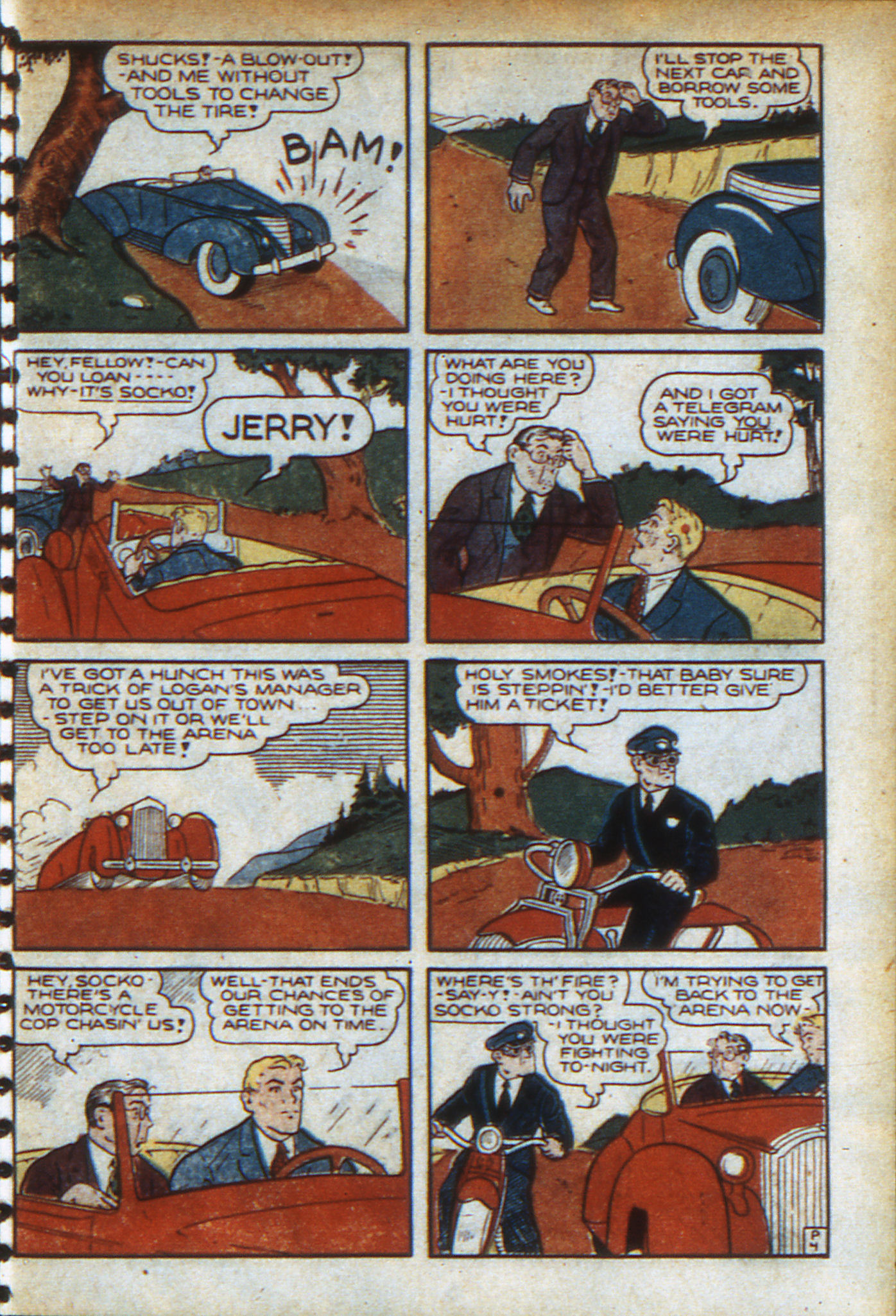 Read online Adventure Comics (1938) comic -  Issue #46 - 32