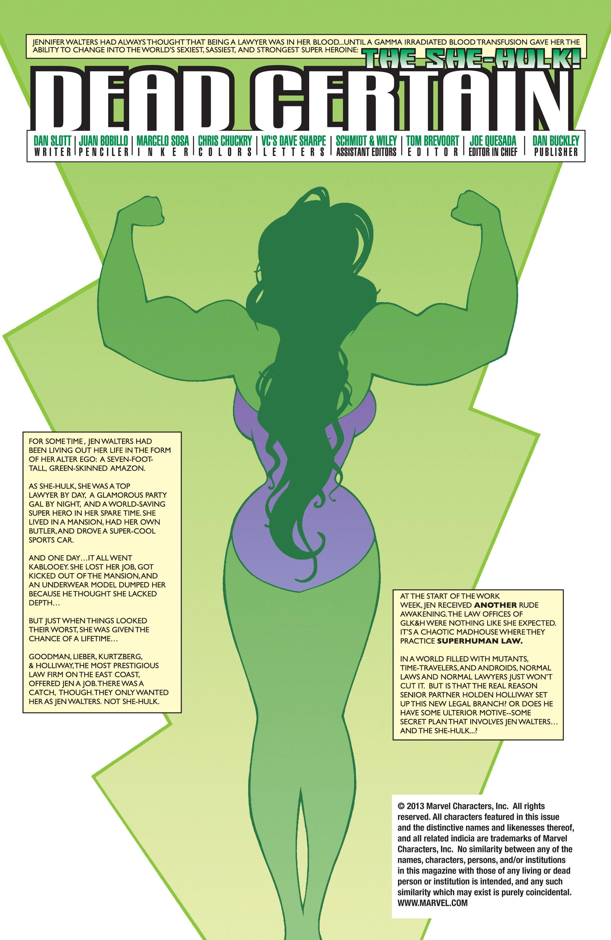 Read online She-Hulk (2004) comic -  Issue #3 - 5