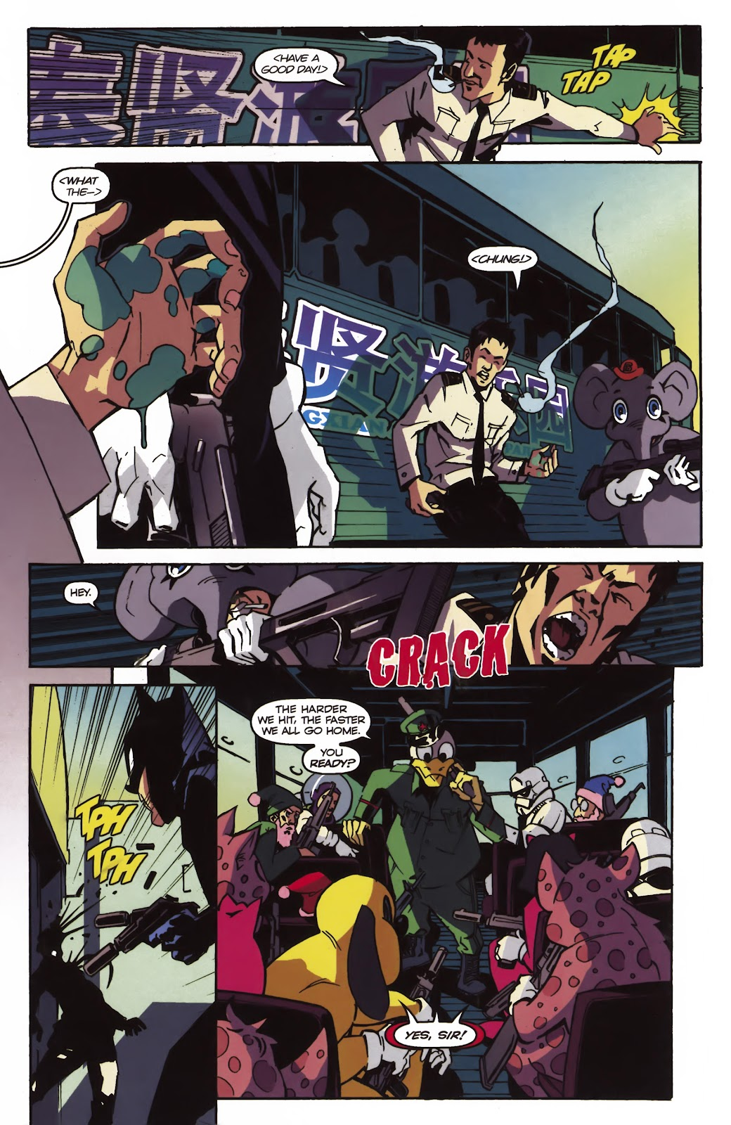 Read online Ricky Rouse Has A Gun comic -  Issue # TPB (Part 1) - 69