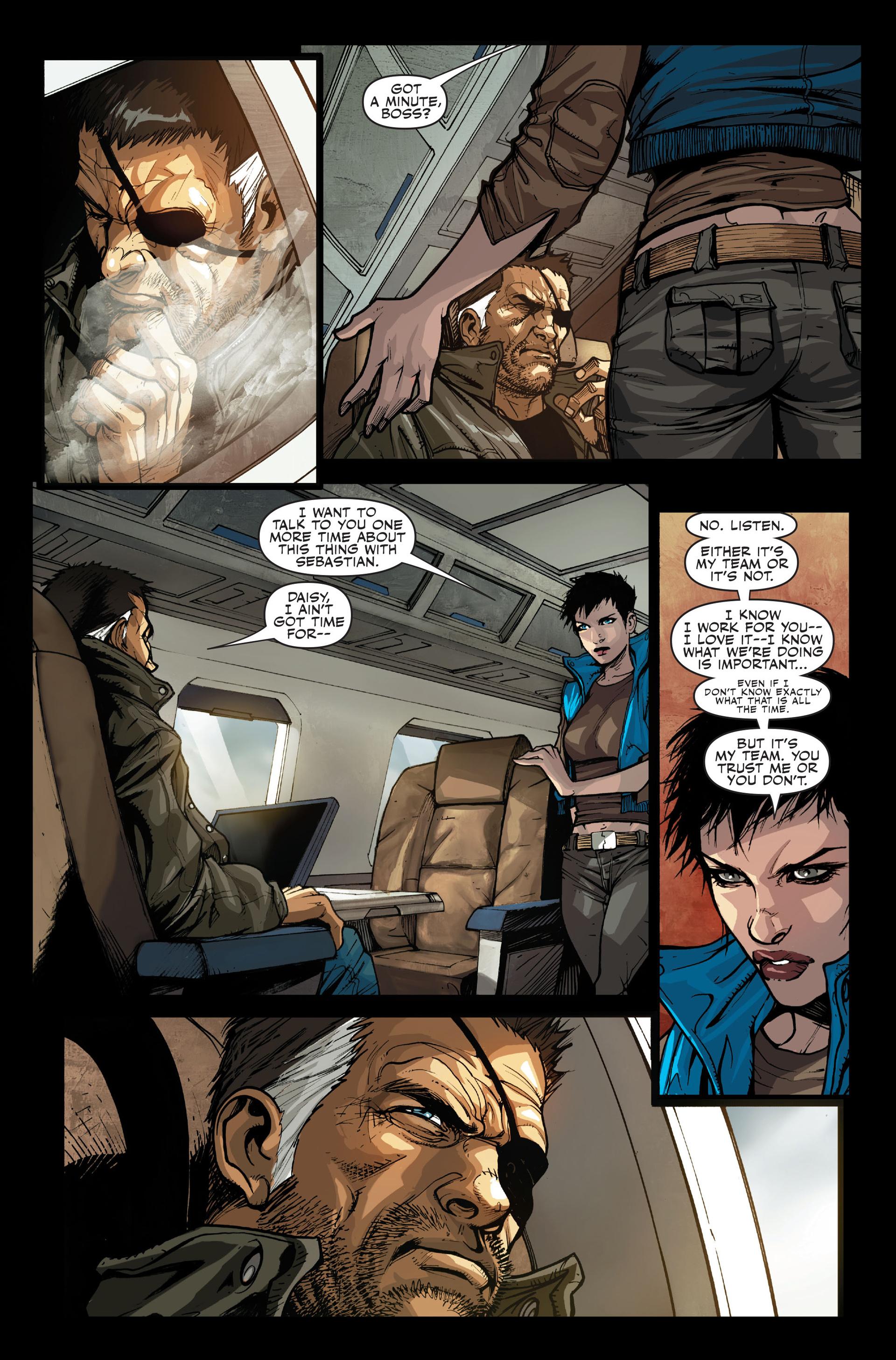 Read online Secret Warriors comic -  Issue #13 - 7