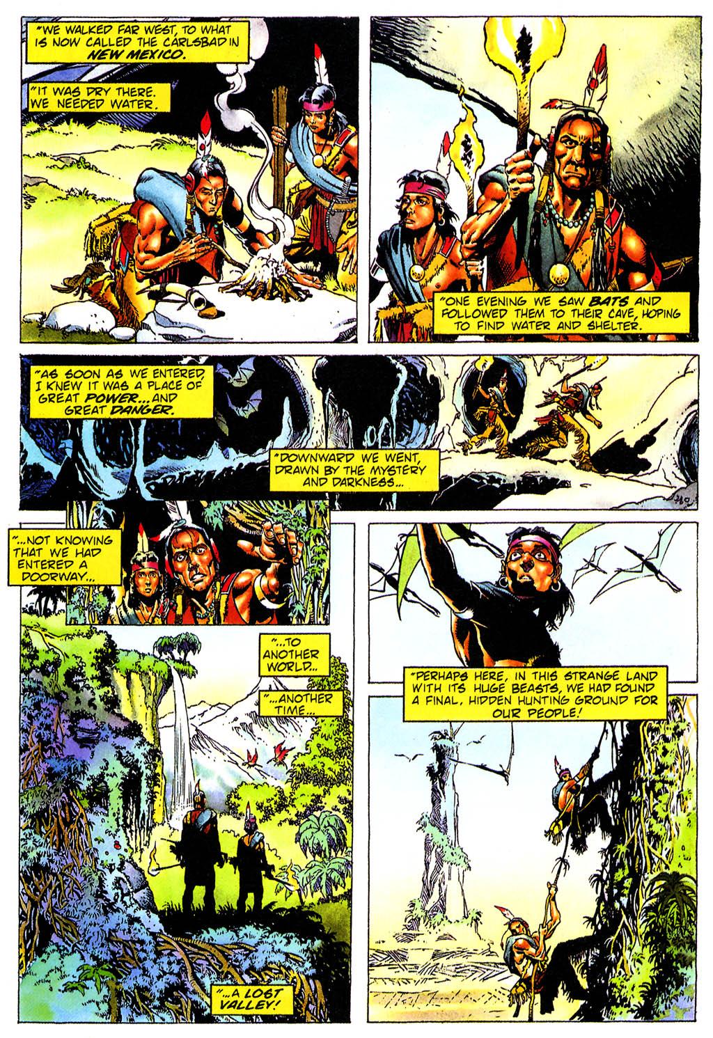 Read online Turok, Dinosaur Hunter (1993) comic -  Issue #0 - 16