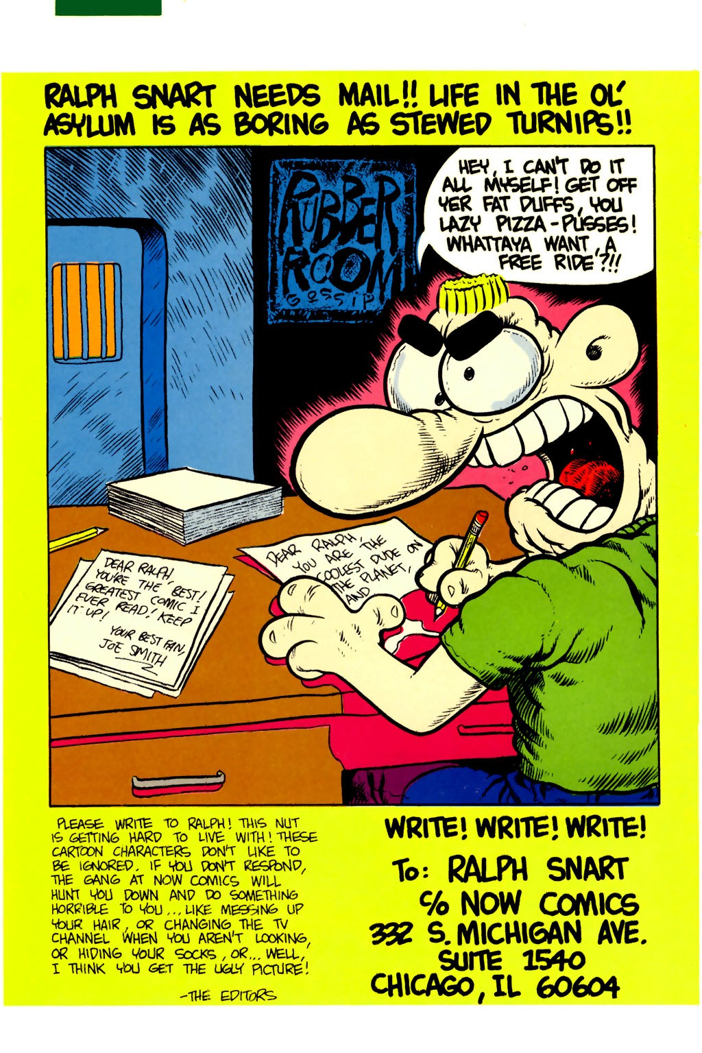 Ralph Snart Adventures (1988) issue 6 - Page 33