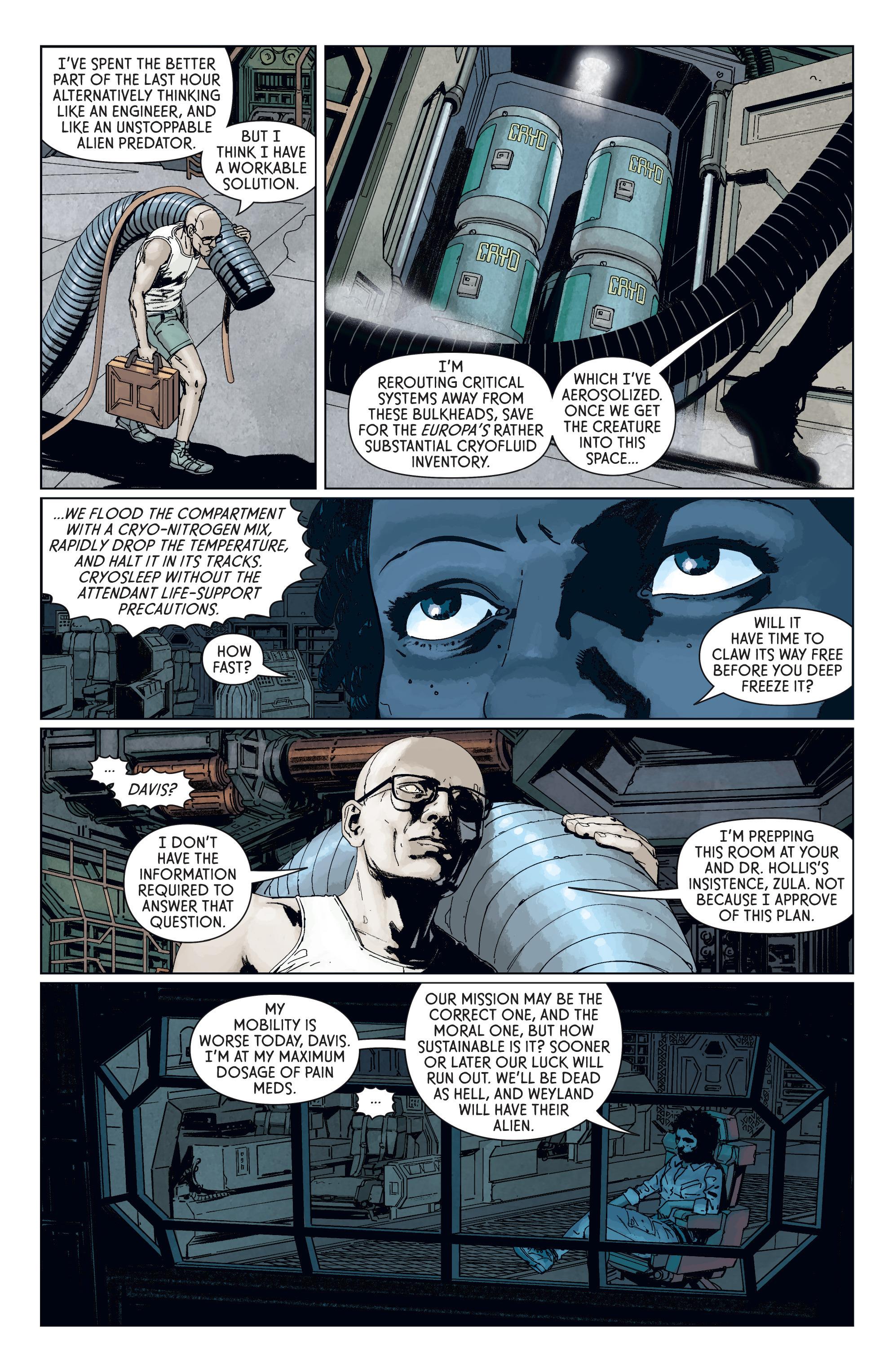 Read online Aliens: Defiance comic -  Issue #7 - 9