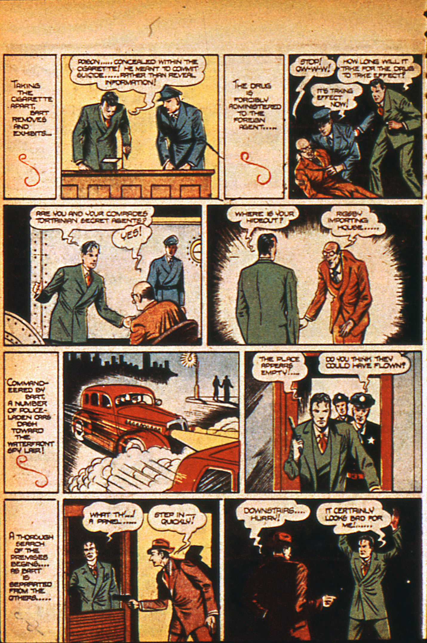 Read online Detective Comics (1937) comic -  Issue #36 - 22