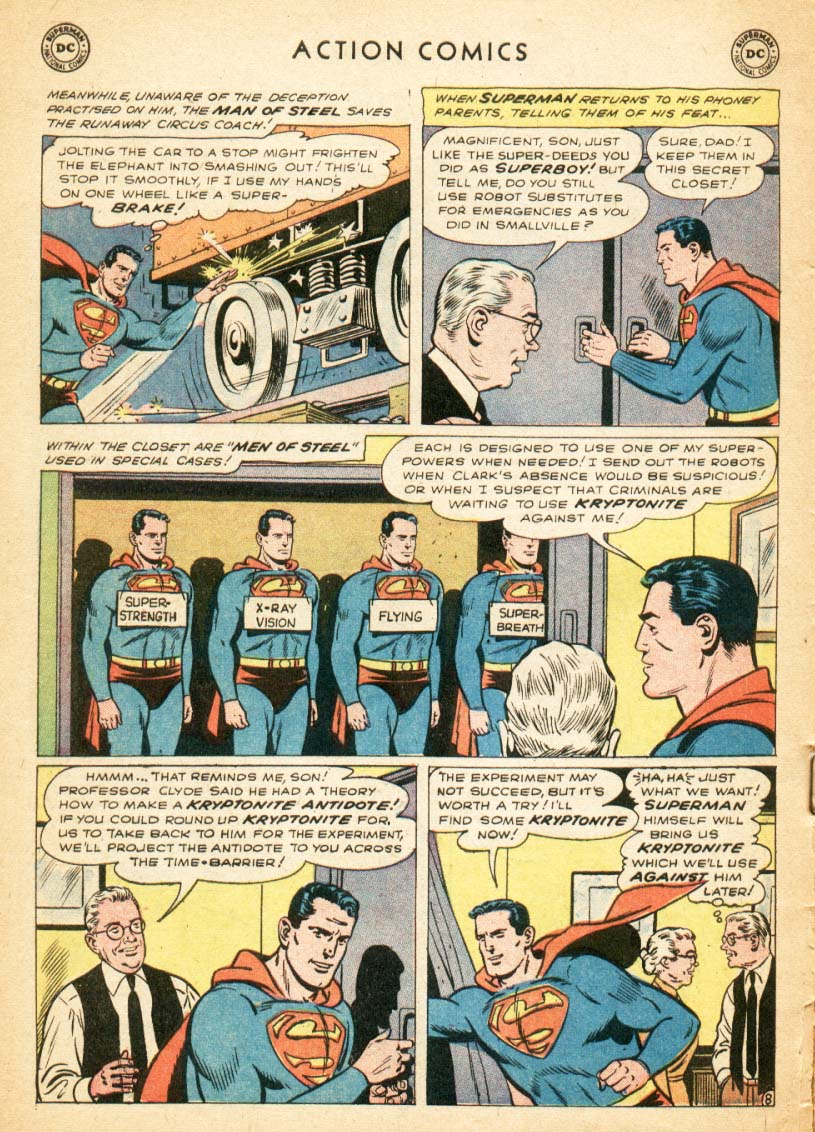 Read online Action Comics (1938) comic -  Issue #247 - 10