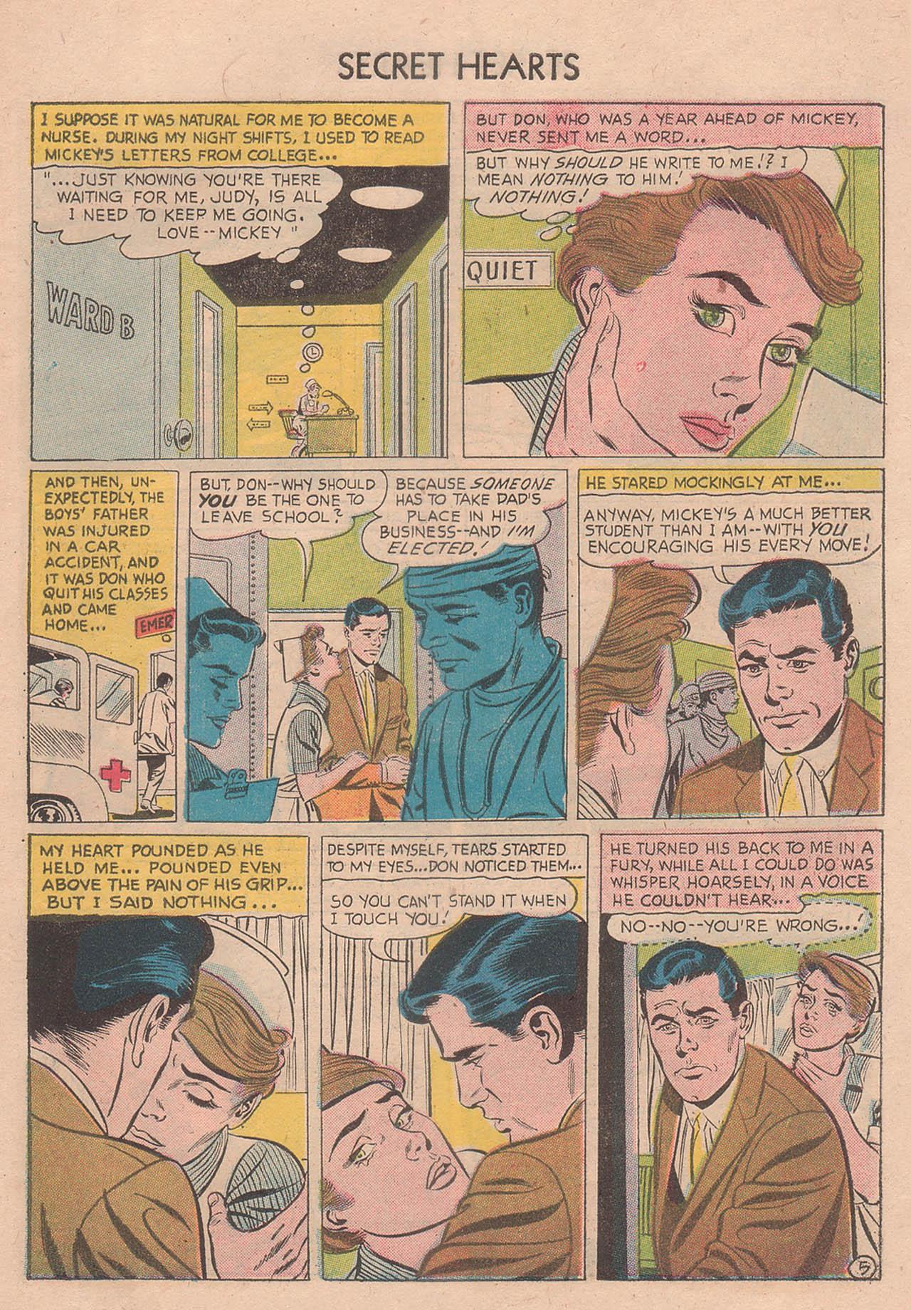 Read online Secret Hearts comic -  Issue #39 - 31