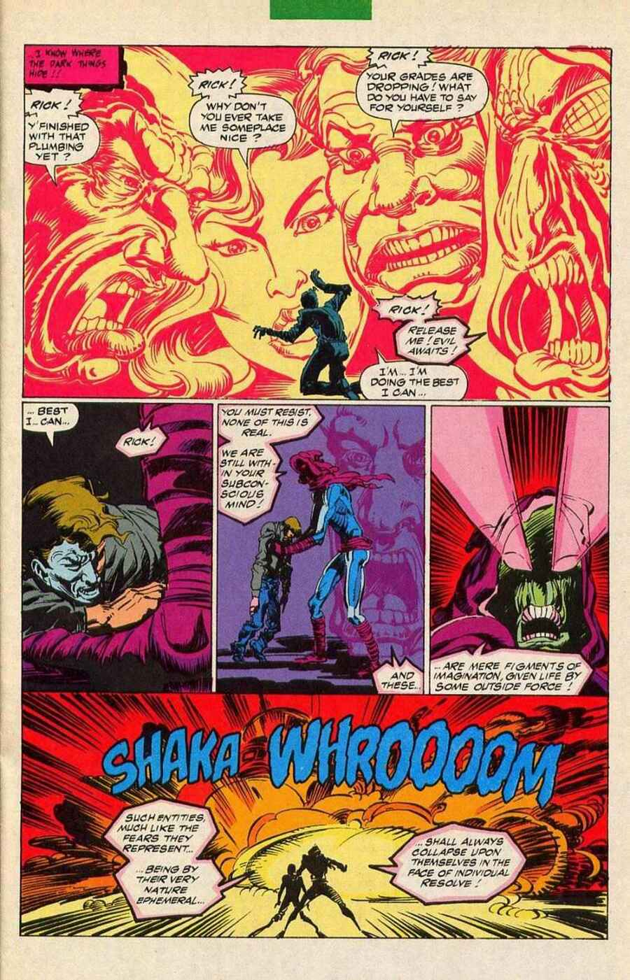 Read online Sleepwalker Holiday Special comic -  Issue # Full - 16