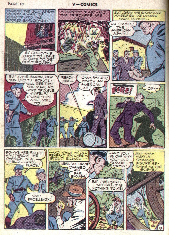 Read online V...- Comics comic -  Issue #1 - 12