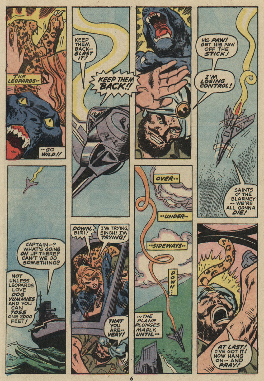 Read online Shanna, the She-Devil (1972) comic -  Issue #5 - 6