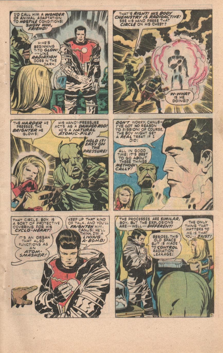 Kamandi, The Last Boy On Earth issue 32 - Page 52