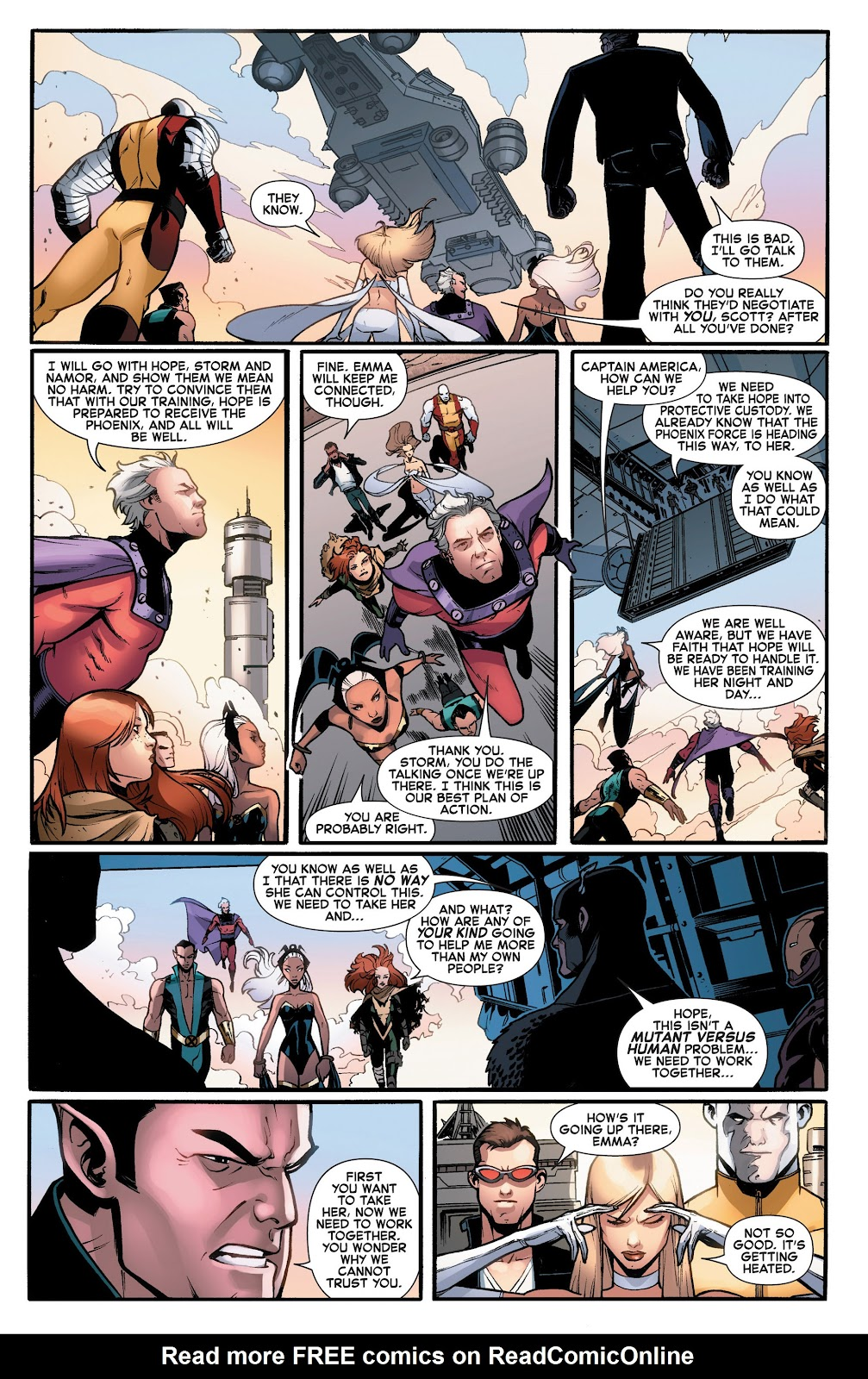 Read online What If? AvX comic -  Issue #1 - 13
