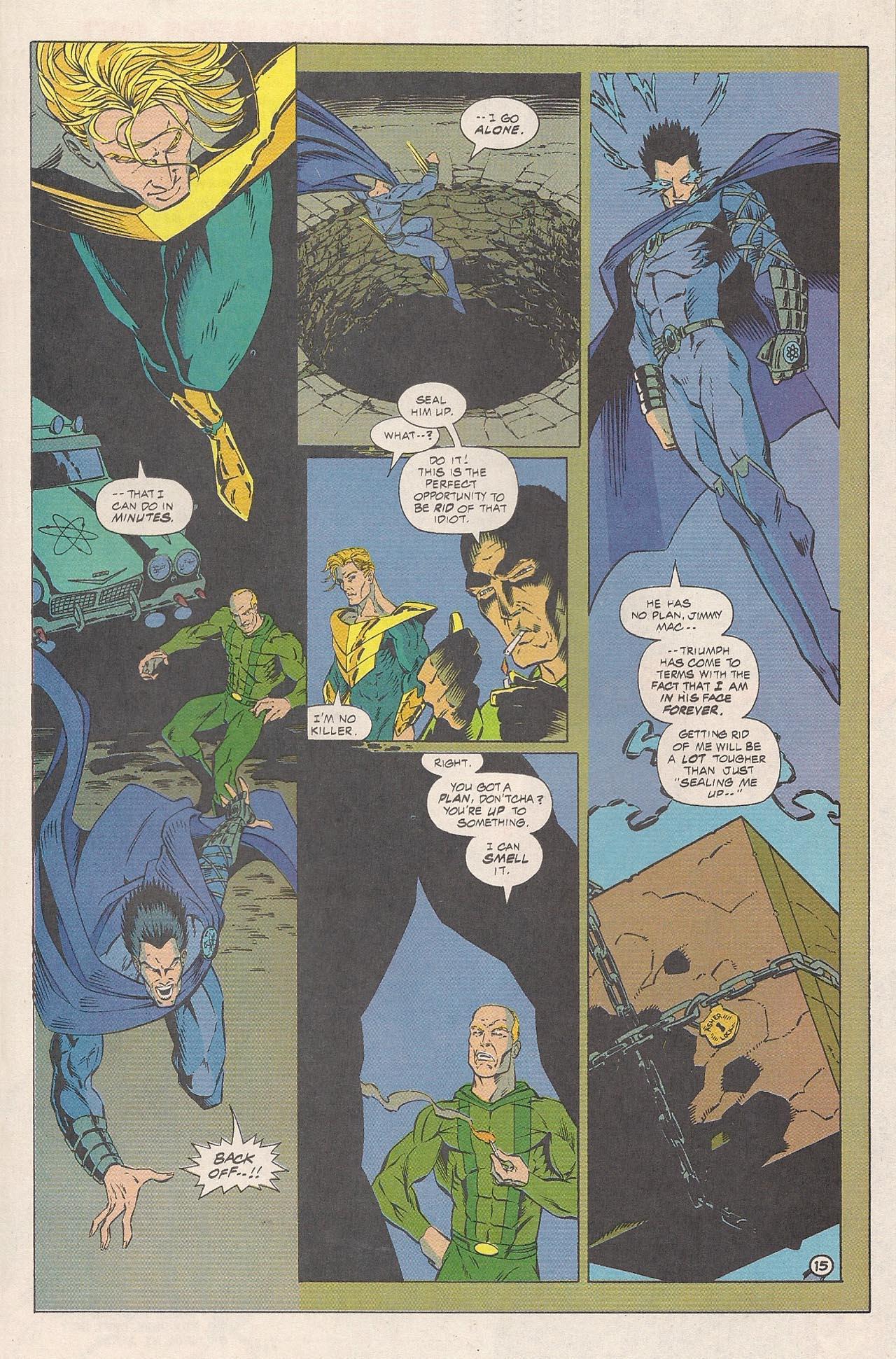 Read online Triumph comic -  Issue #4 - 23