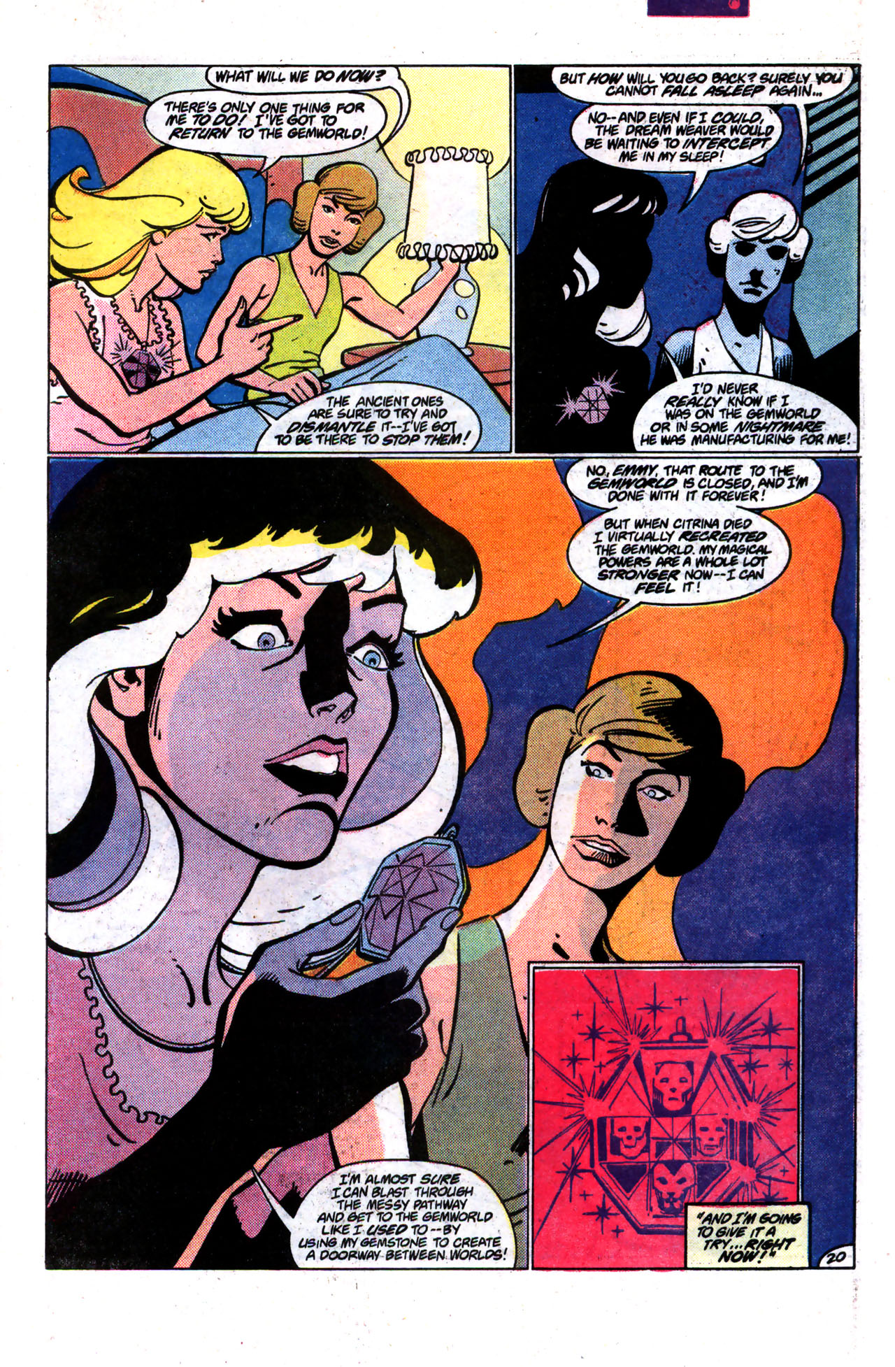 Read online Amethyst (1985) comic -  Issue #9 - 20