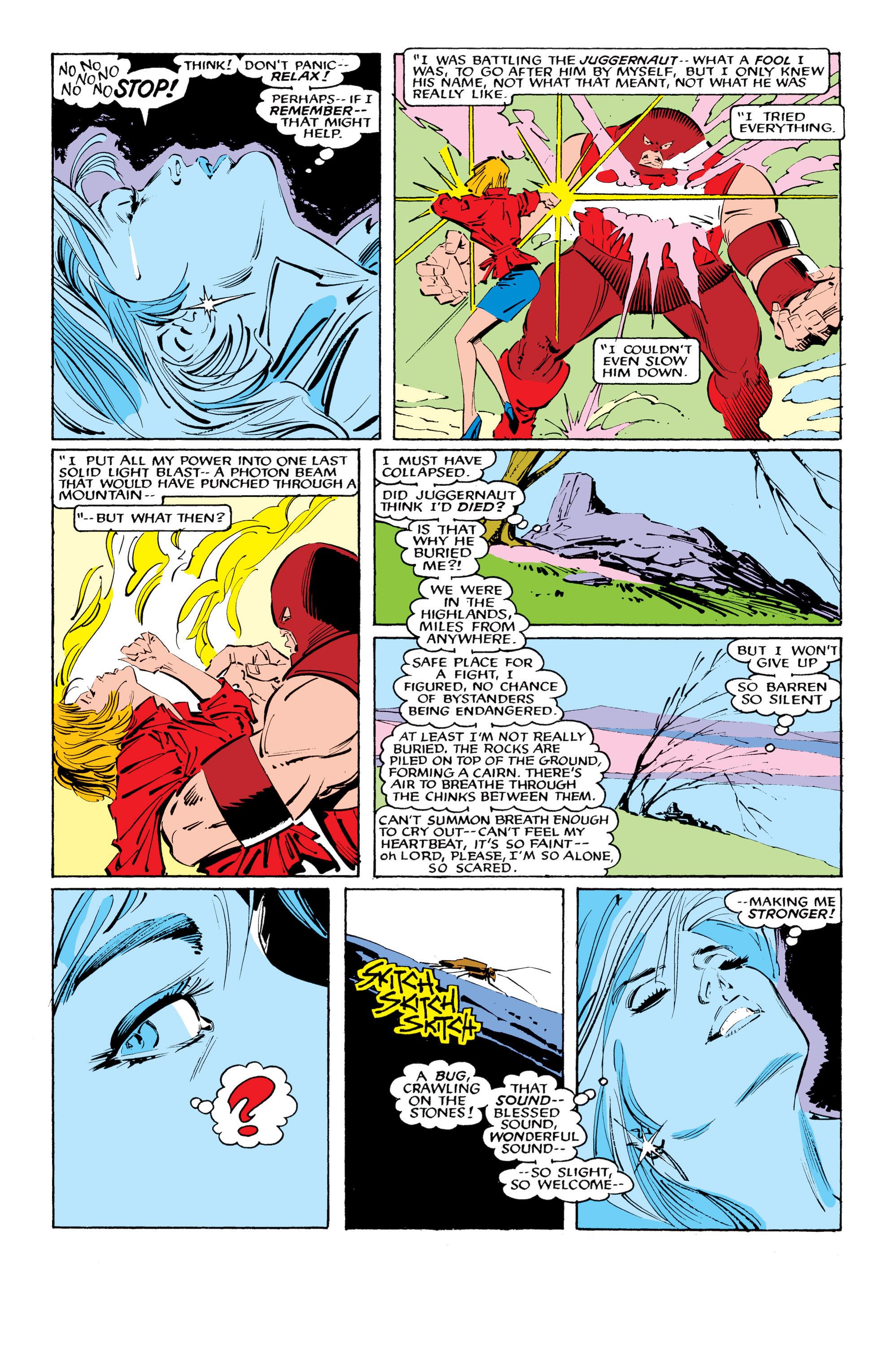 Read online Uncanny X-Men (1963) comic -  Issue #218 - 7