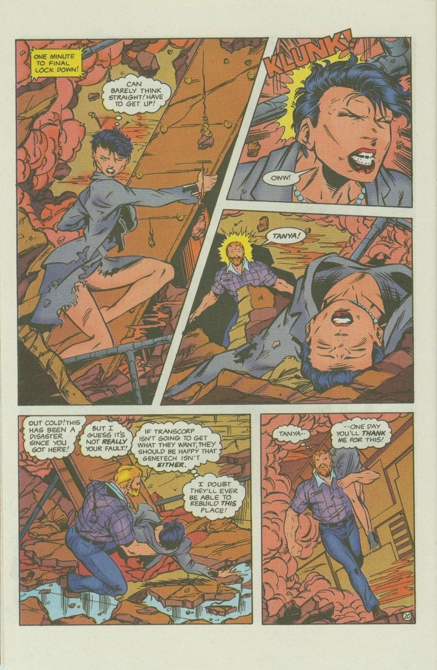 Read online Ex-Mutants comic -  Issue #8 - 25