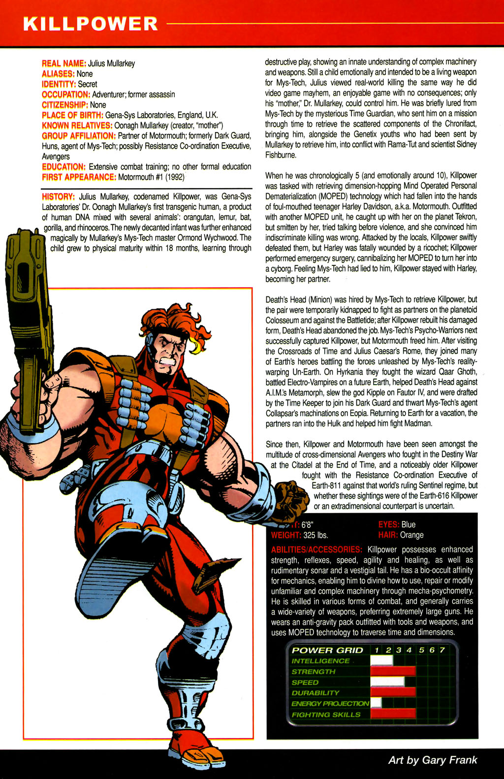 Read online All-New Official Handbook of the Marvel Universe A to Z comic -  Issue #6 - 14