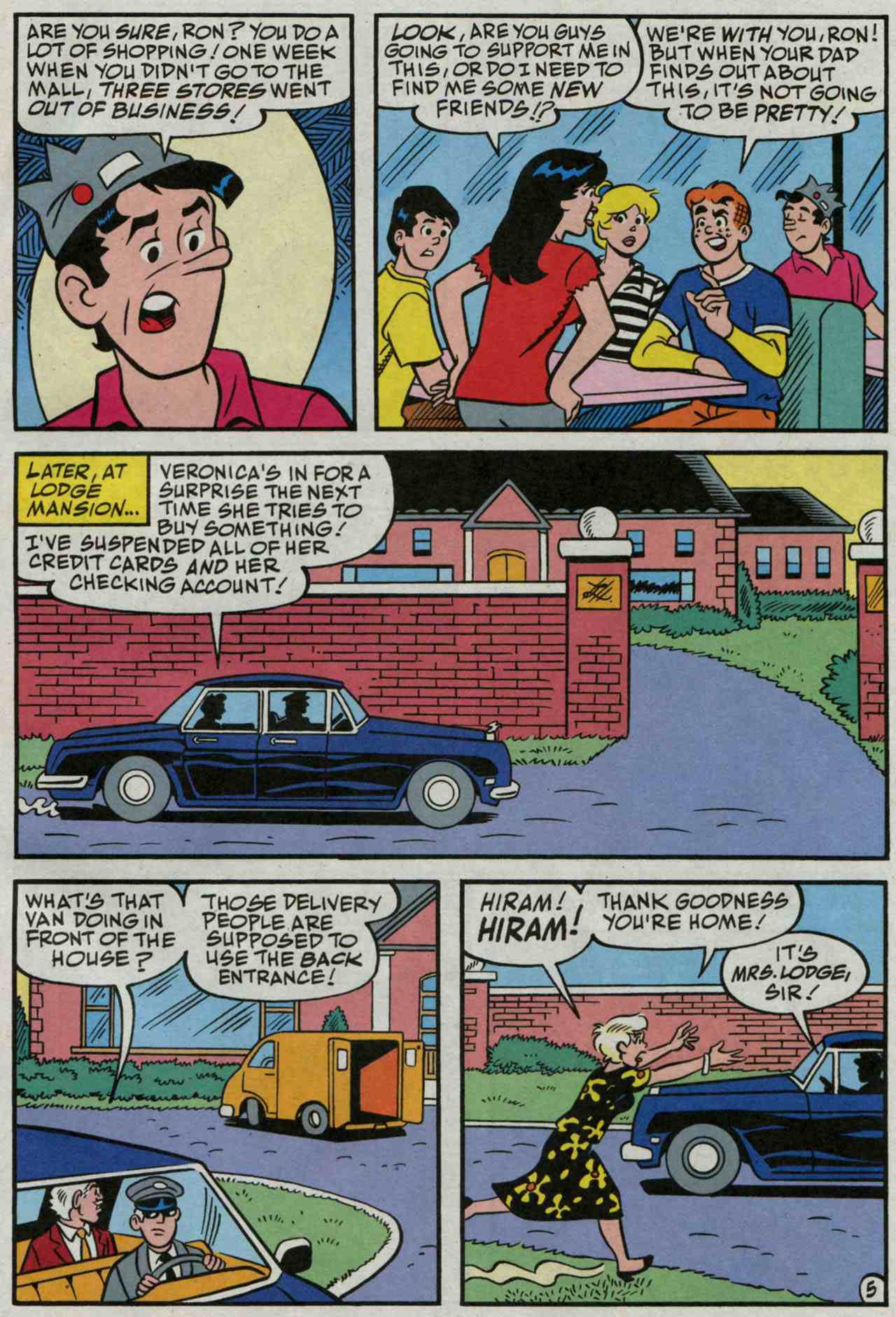 Read online Archie's Girls Betty and Veronica comic -  Issue #235 - 6